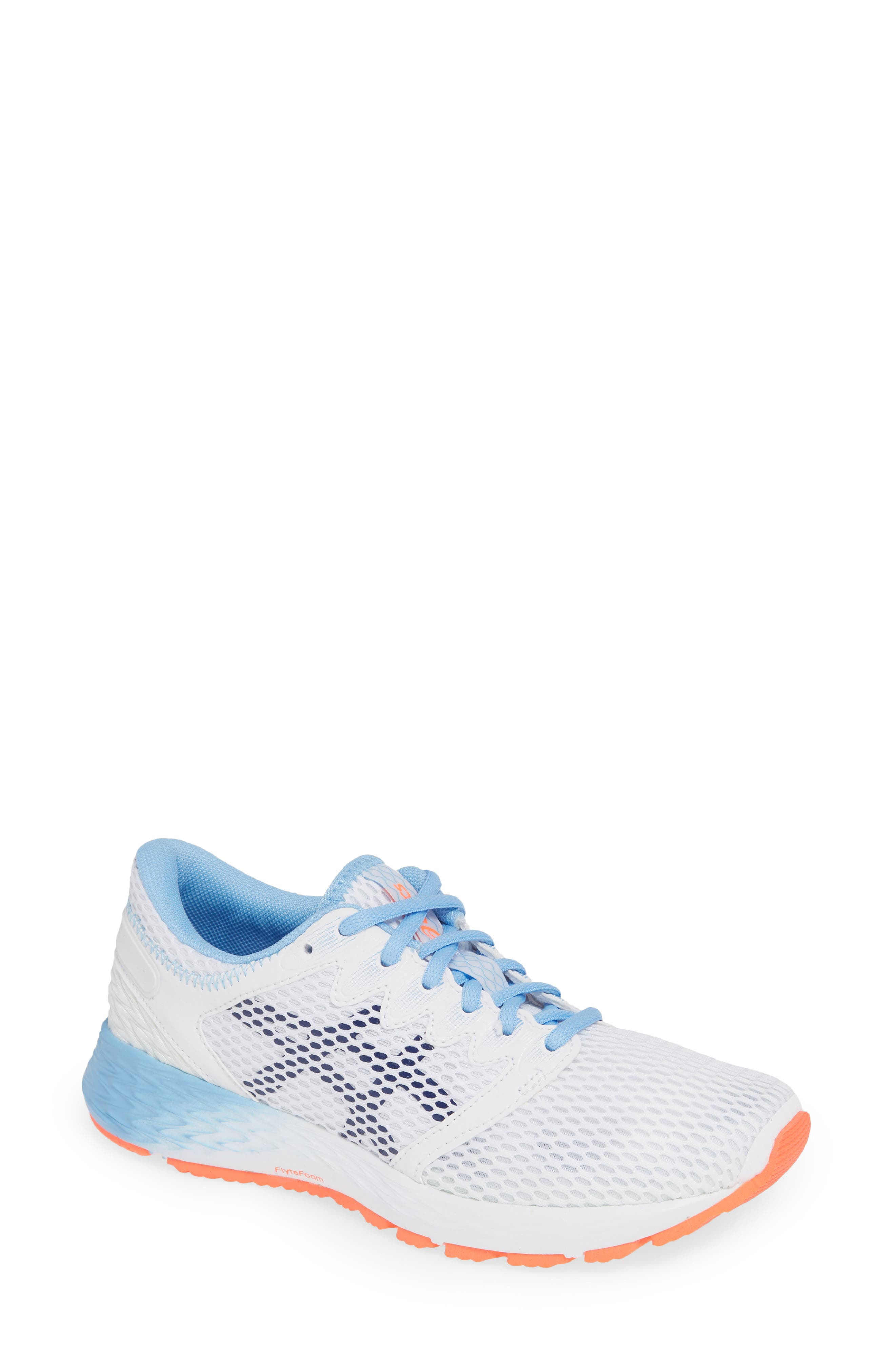 Asics Roadhawk Ff 2 Running Shoe, White