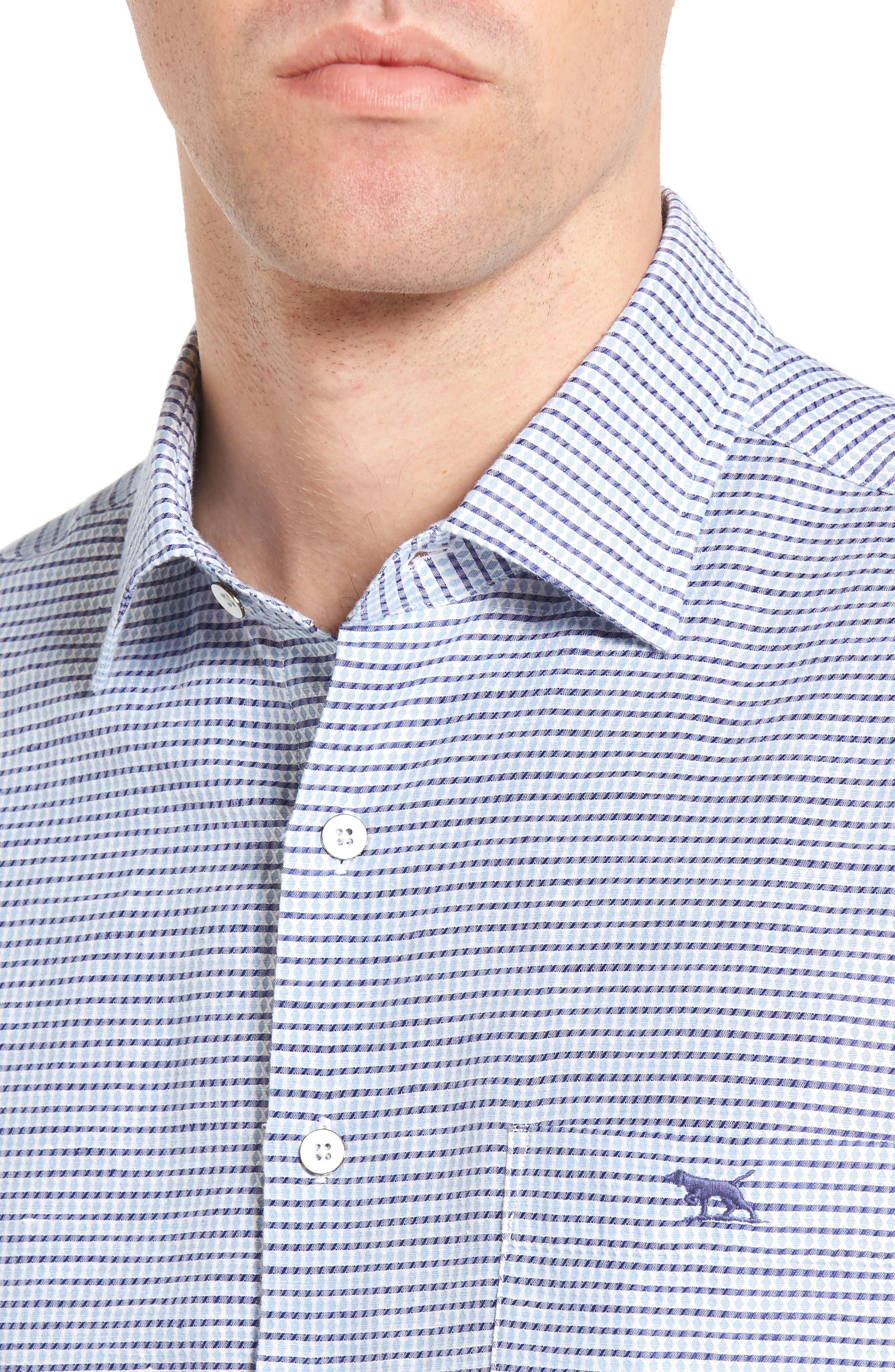 Upper Hutt Original Fit Sport Shirt,                             Alternate thumbnail 4, color,                             459