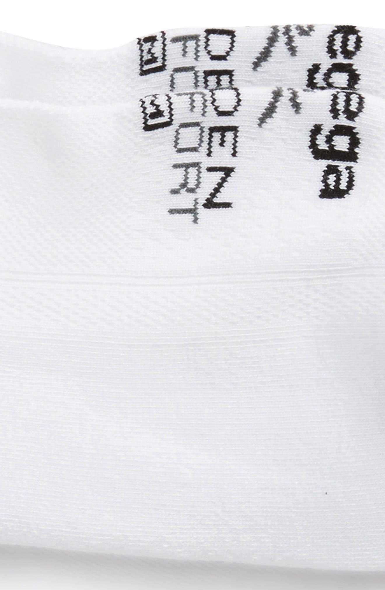Hidden Comfort Socks,                             Alternate thumbnail 2, color,                             WHITE