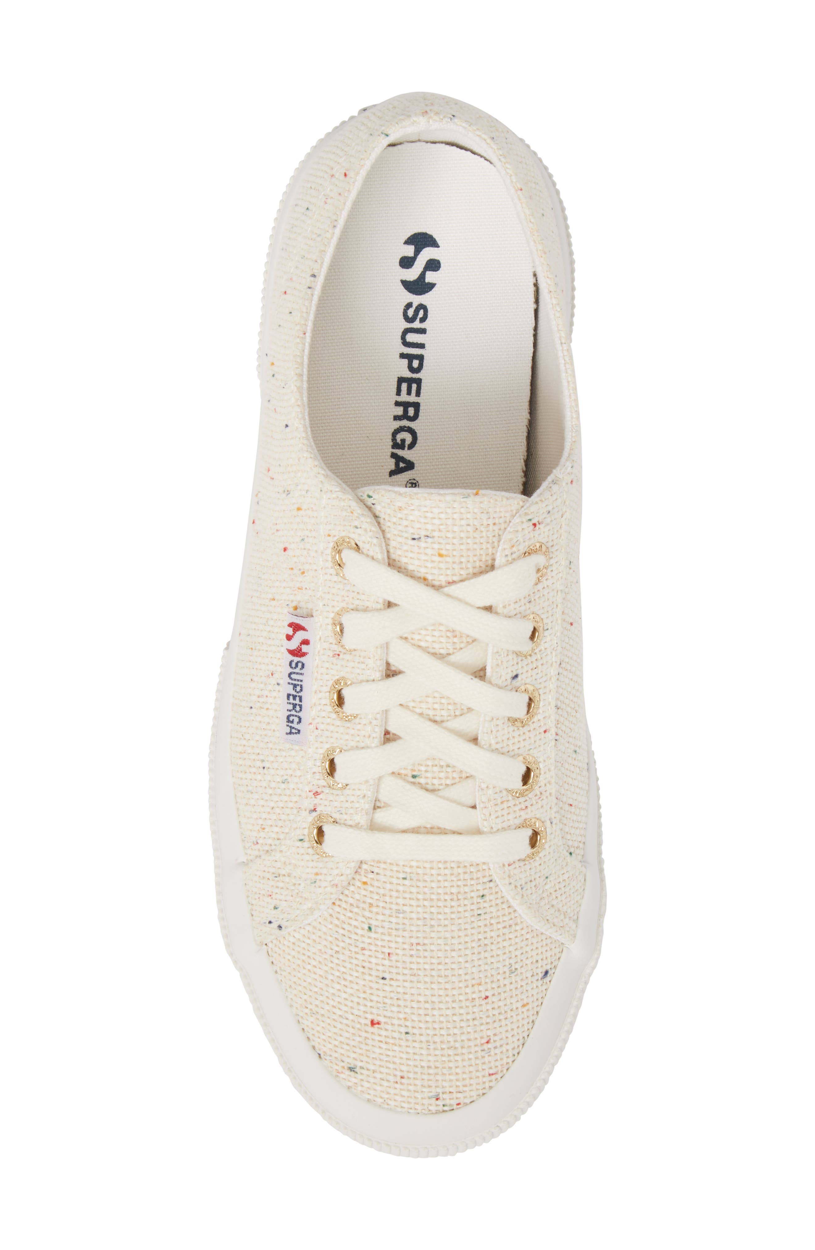 SUPERGA,                             2750 Speckle Low Top Sneaker,                             Alternate thumbnail 5, color,                             900