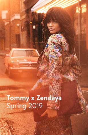 Tommy x Zendaya women's clothing.