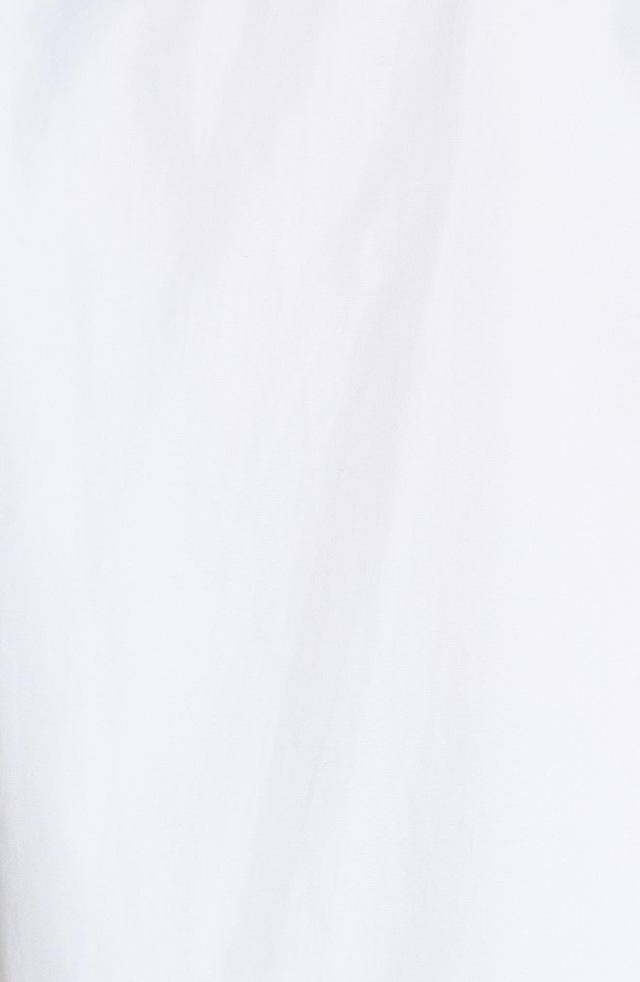 Visivo Cotton Poplin Shirt,                             Alternate thumbnail 5, color,                             101