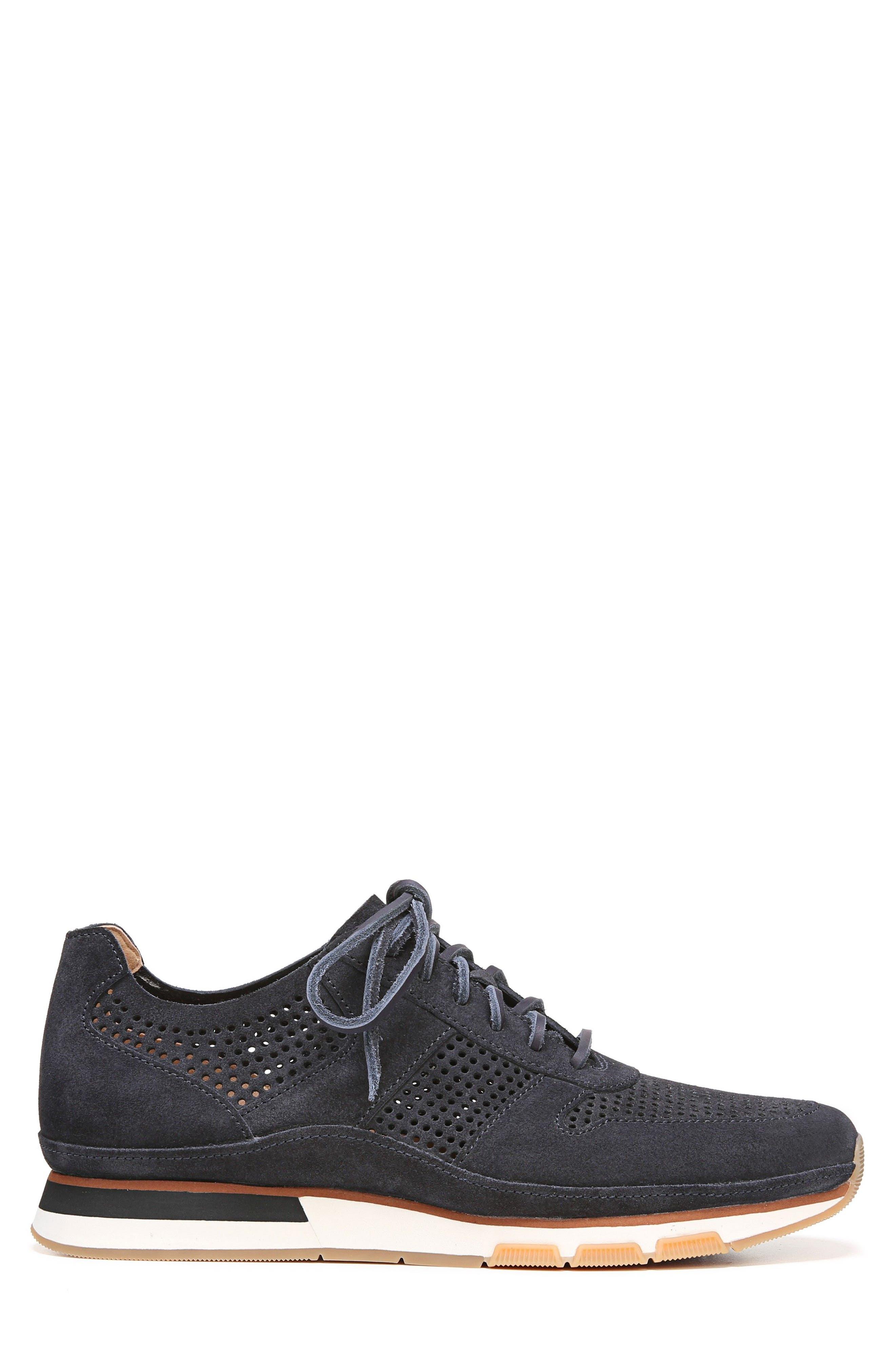 Larson Perforated Sneaker,                             Alternate thumbnail 3, color,                             COASTAL