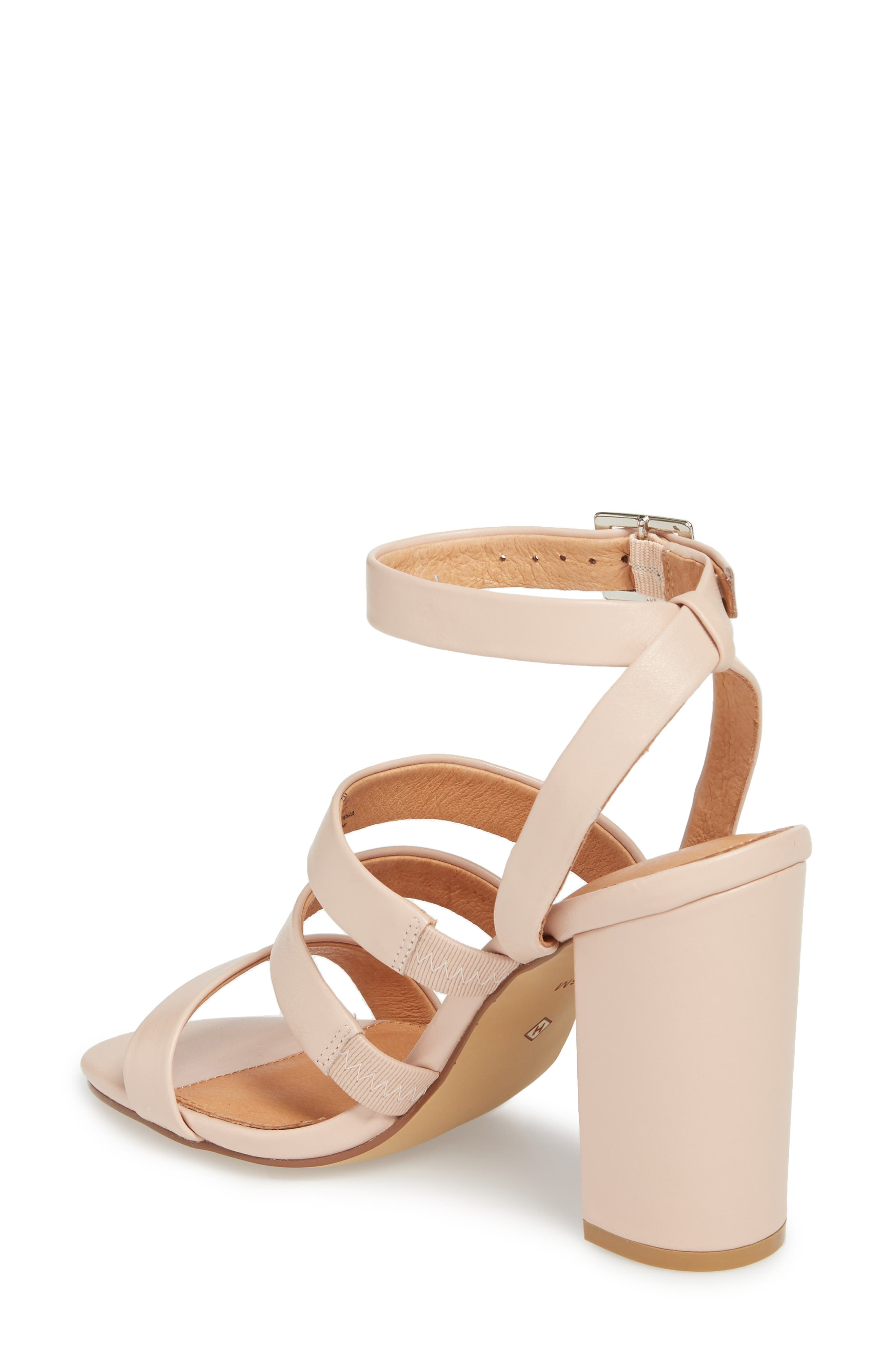Rocco Sandal,                             Alternate thumbnail 2, color,                             BLUSH LEATHER