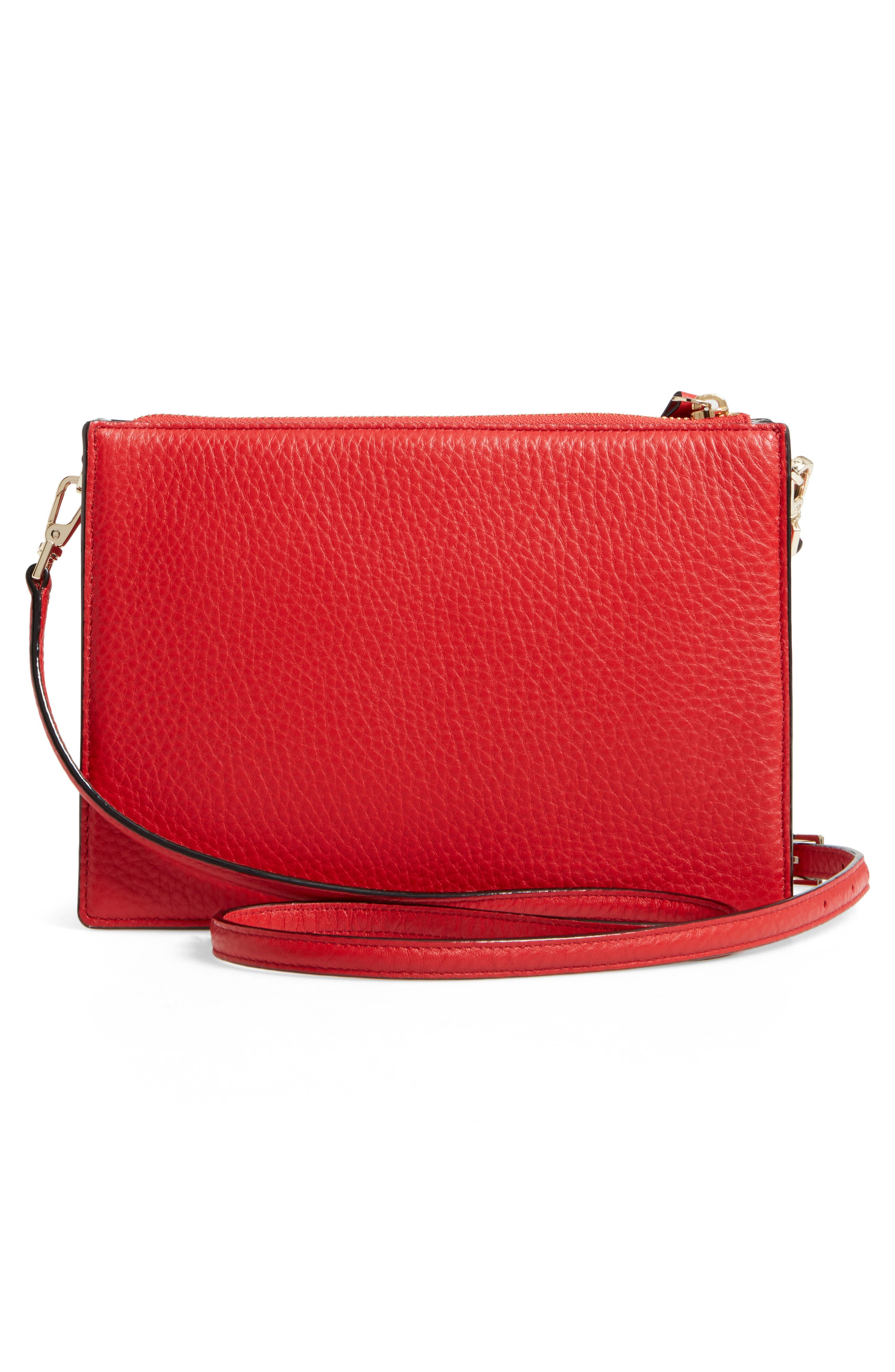 steward street clarise leather shoulder bag,                             Alternate thumbnail 9, color,
