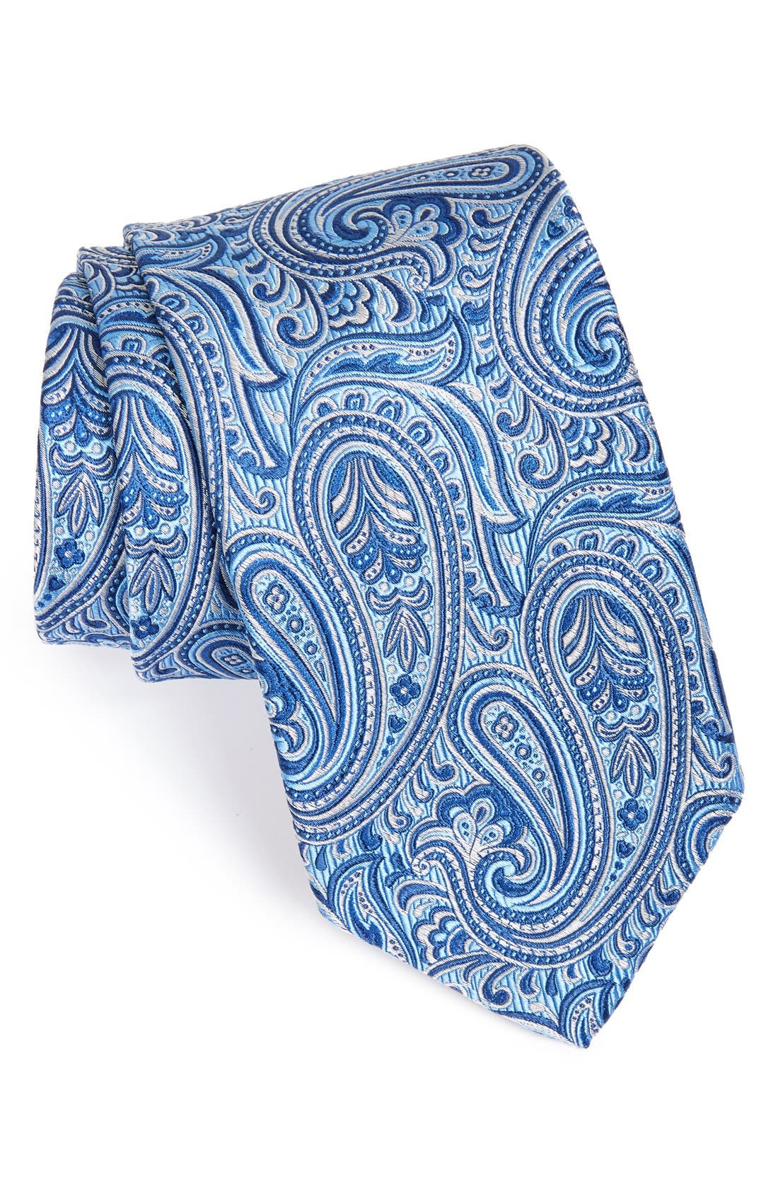 'Best of Class' Woven Silk Tie, Main, color, 474