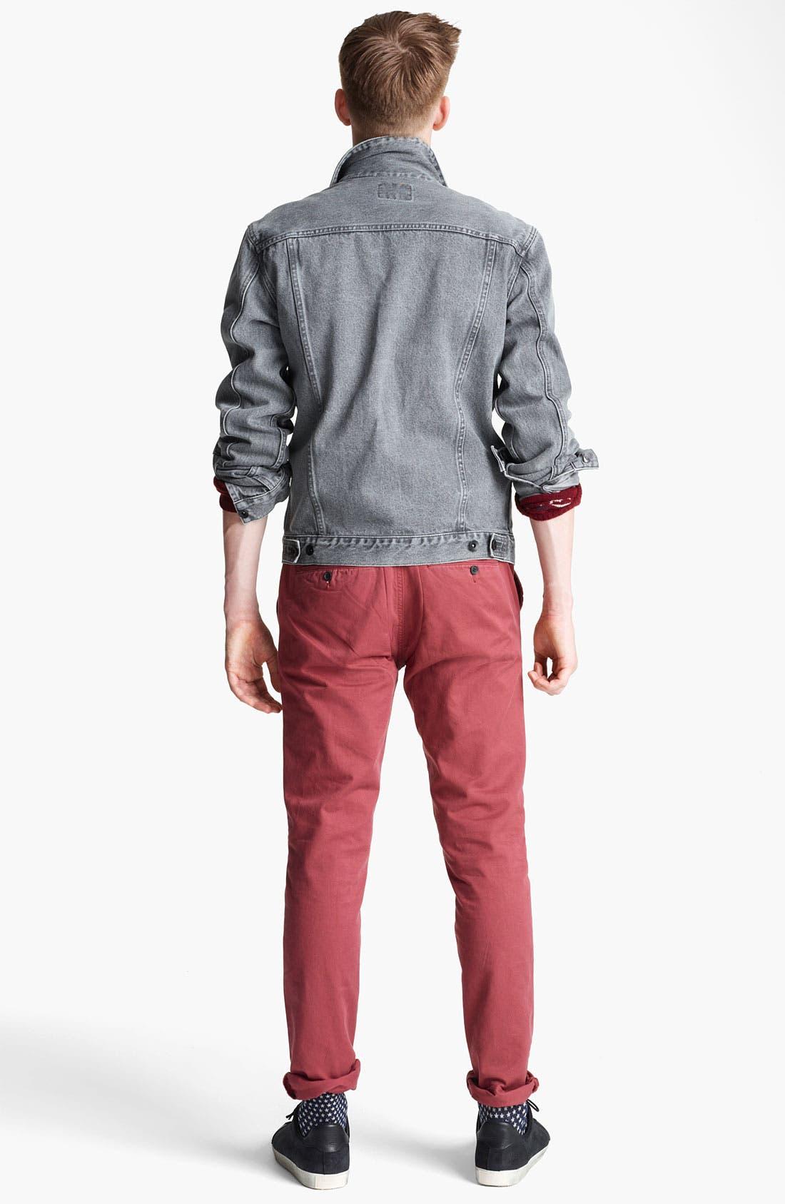 'Dyder' Denim Jacket,                             Alternate thumbnail 3, color,
