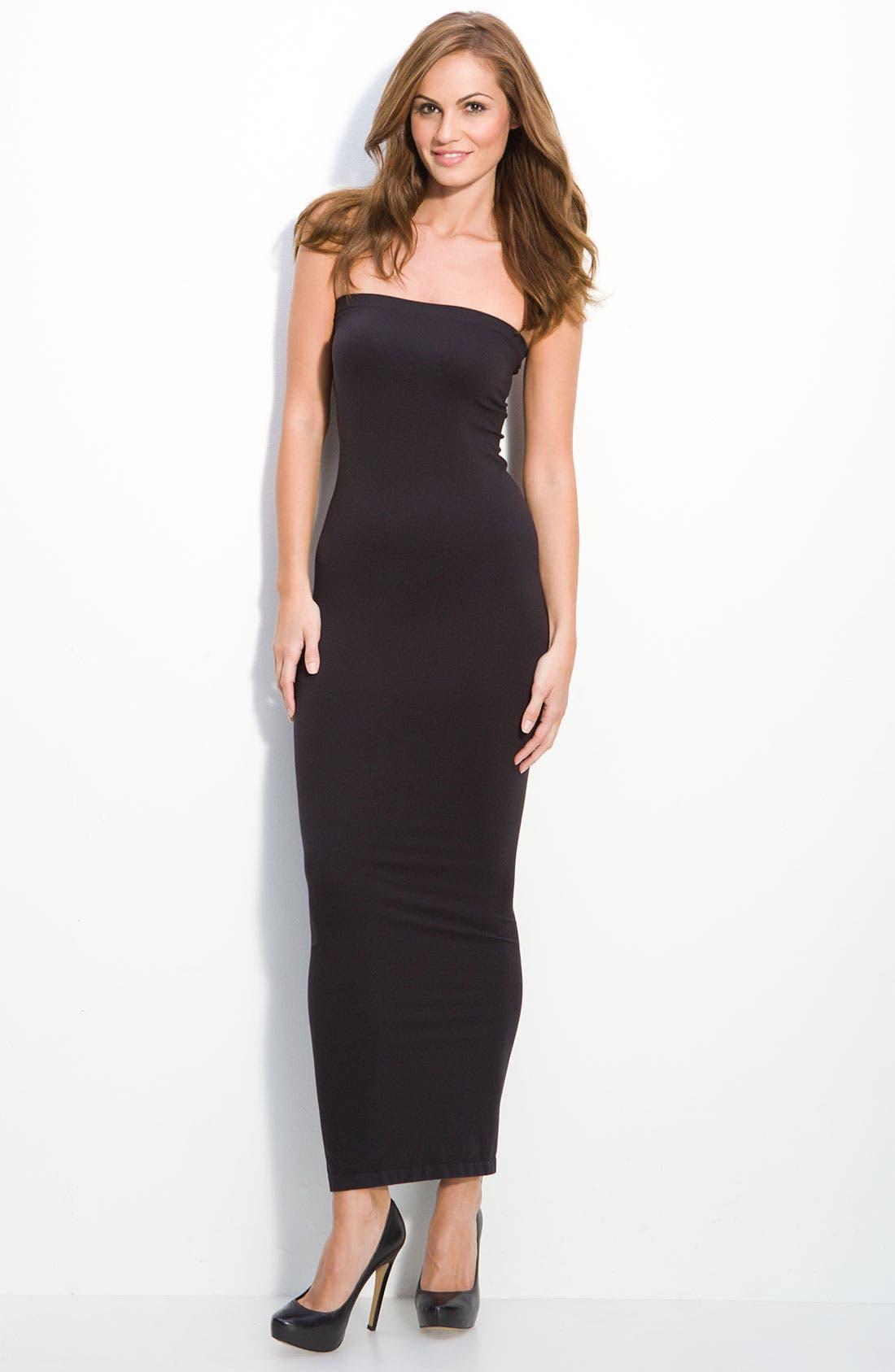 'Fatal' Tube Dress,                         Main,                         color, BLACK
