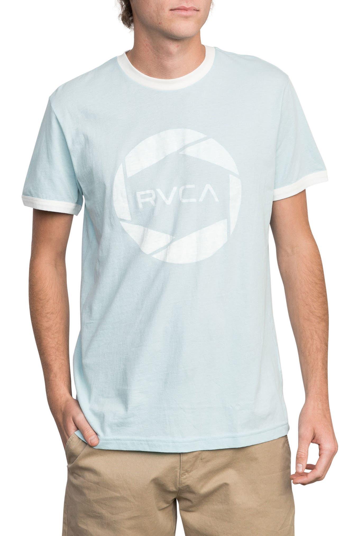 Big Network Ringer T-Shirt,                             Main thumbnail 1, color,                             COSMOS