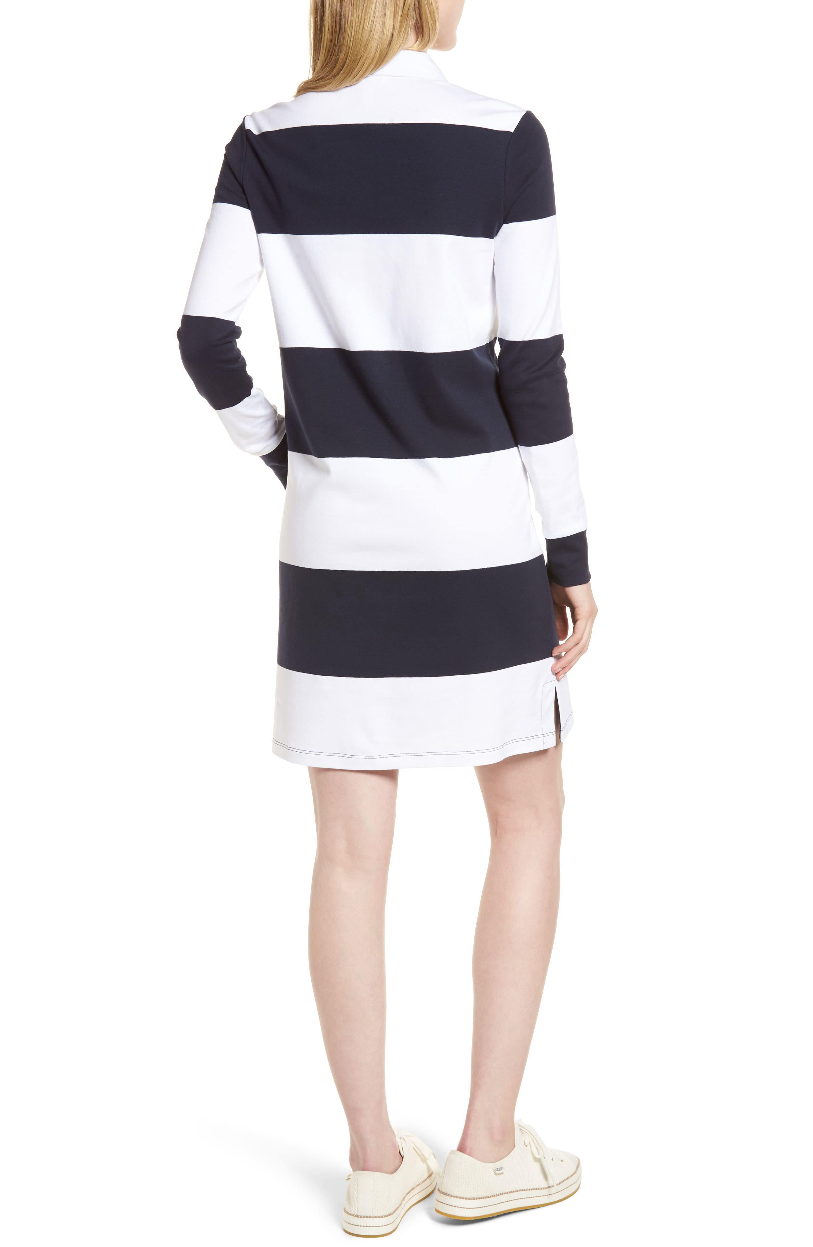 Cotton Rugby Dress,                             Alternate thumbnail 2, color,                             410