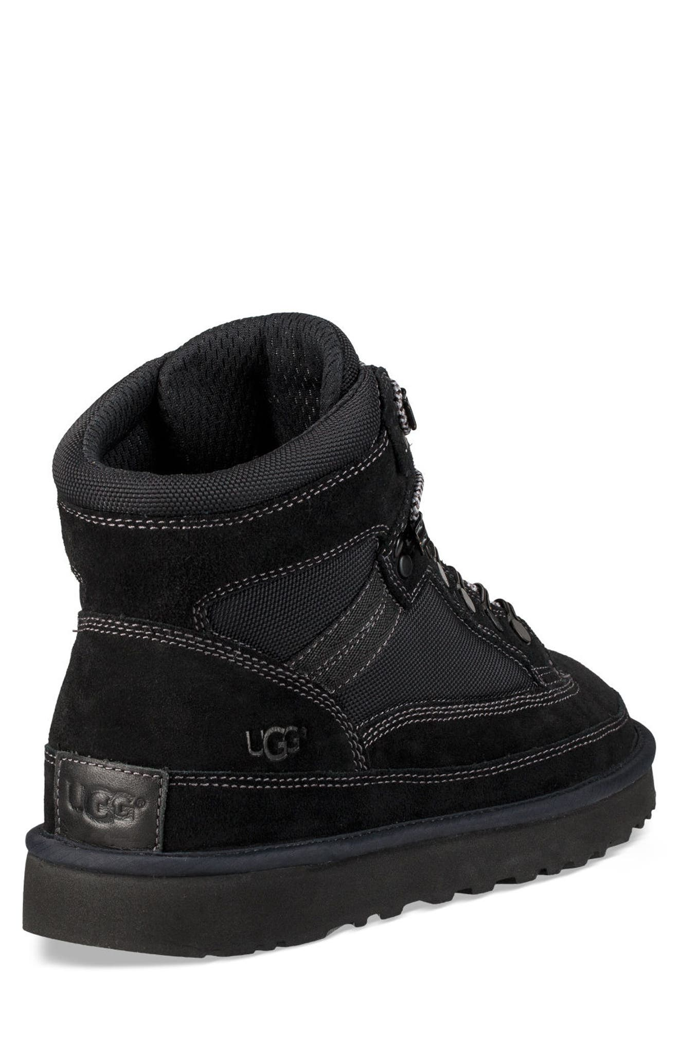 Highland Hiker Boot,                             Alternate thumbnail 2, color,                             BLACK