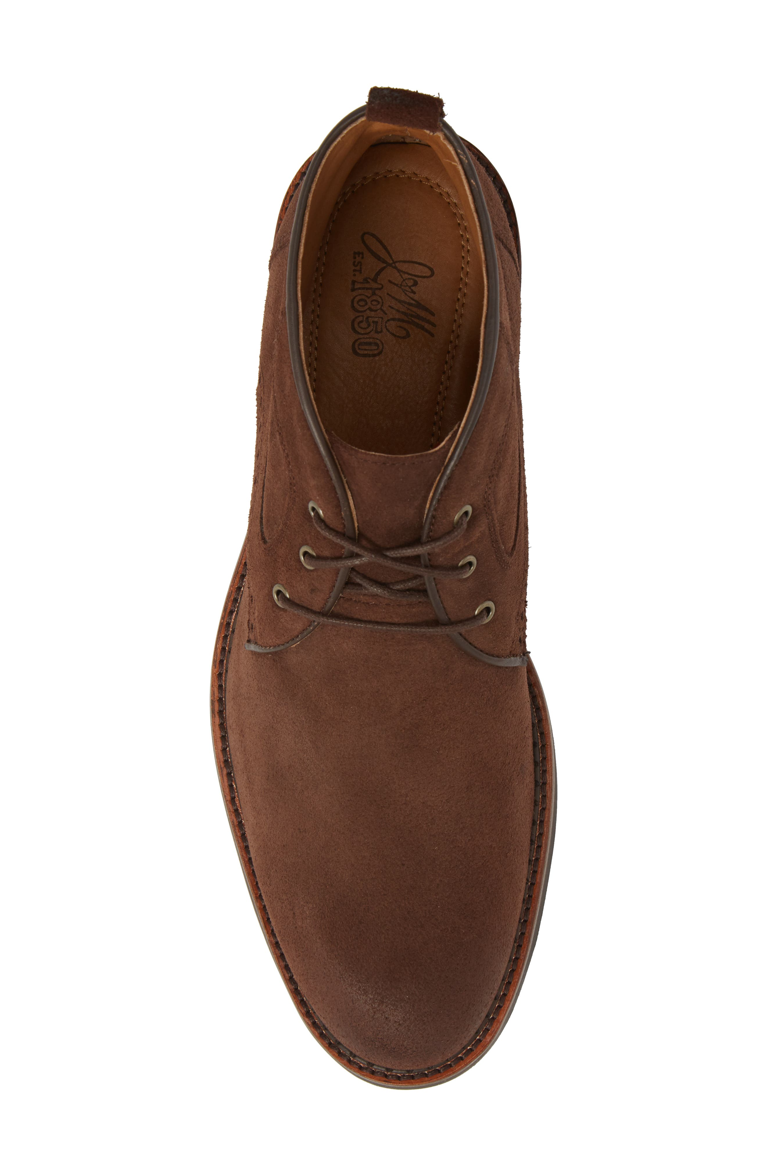 Fullerton Chukka Boot,                             Alternate thumbnail 5, color,                             DARK BROWN