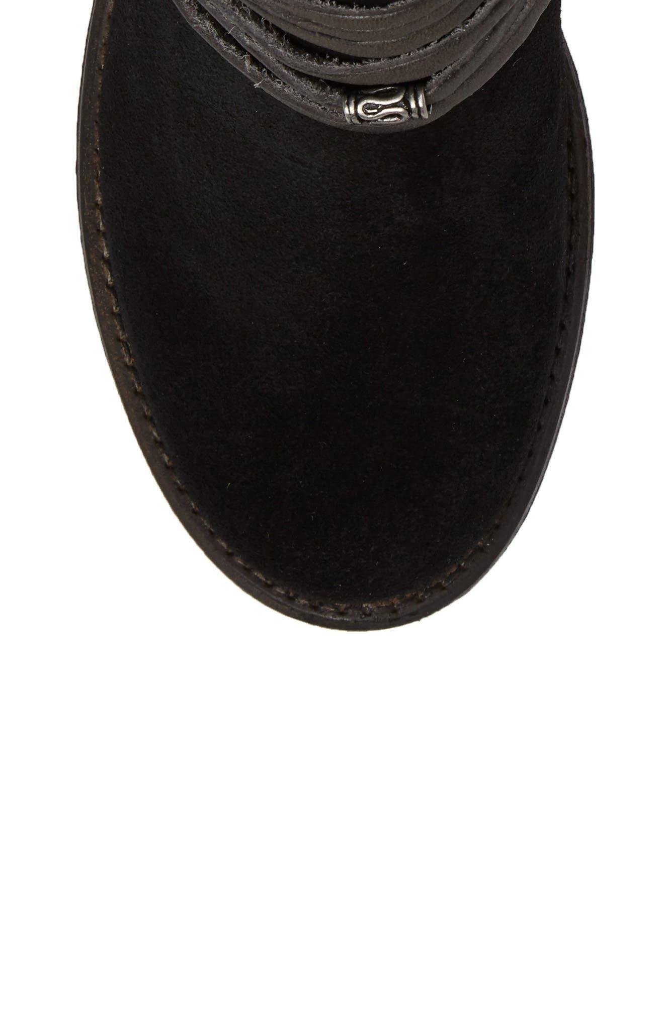 McCall Waterproof Boot,                             Alternate thumbnail 5, color,                             001