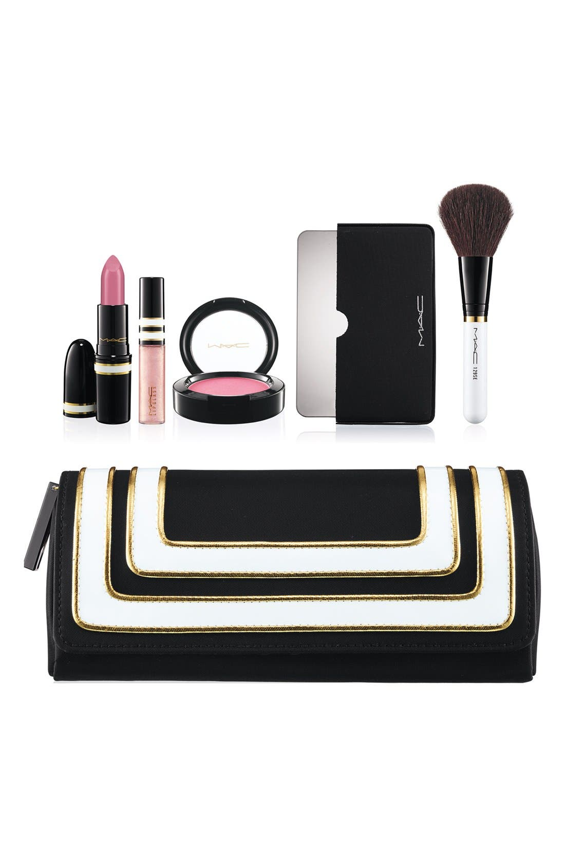 M·A·C 'Stroke of Midnight - Pink' Lip & Cheek Bag,                         Main,                         color, 650