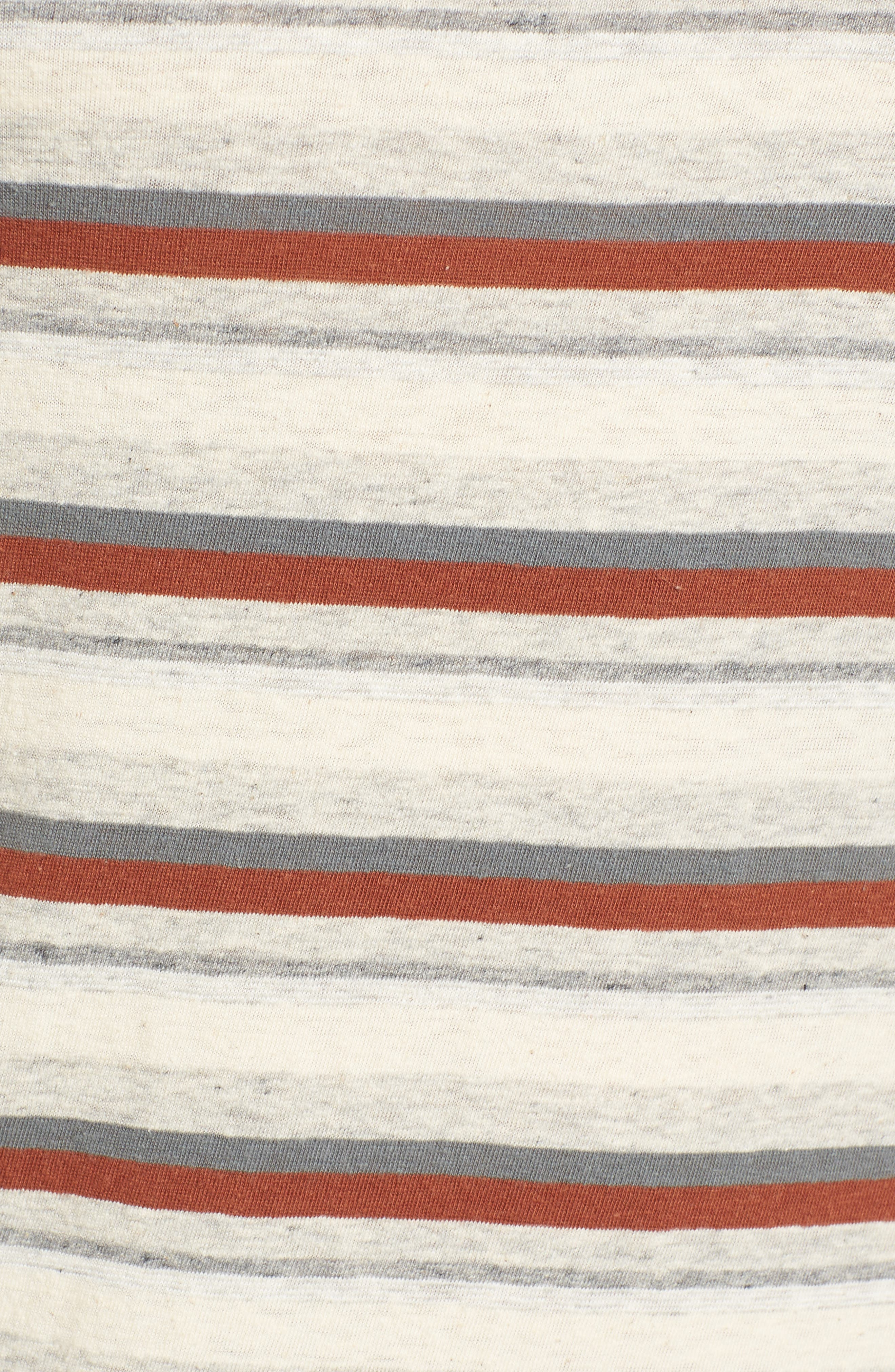 Sleeveless Stripe Dress,                             Alternate thumbnail 5, color,                             038