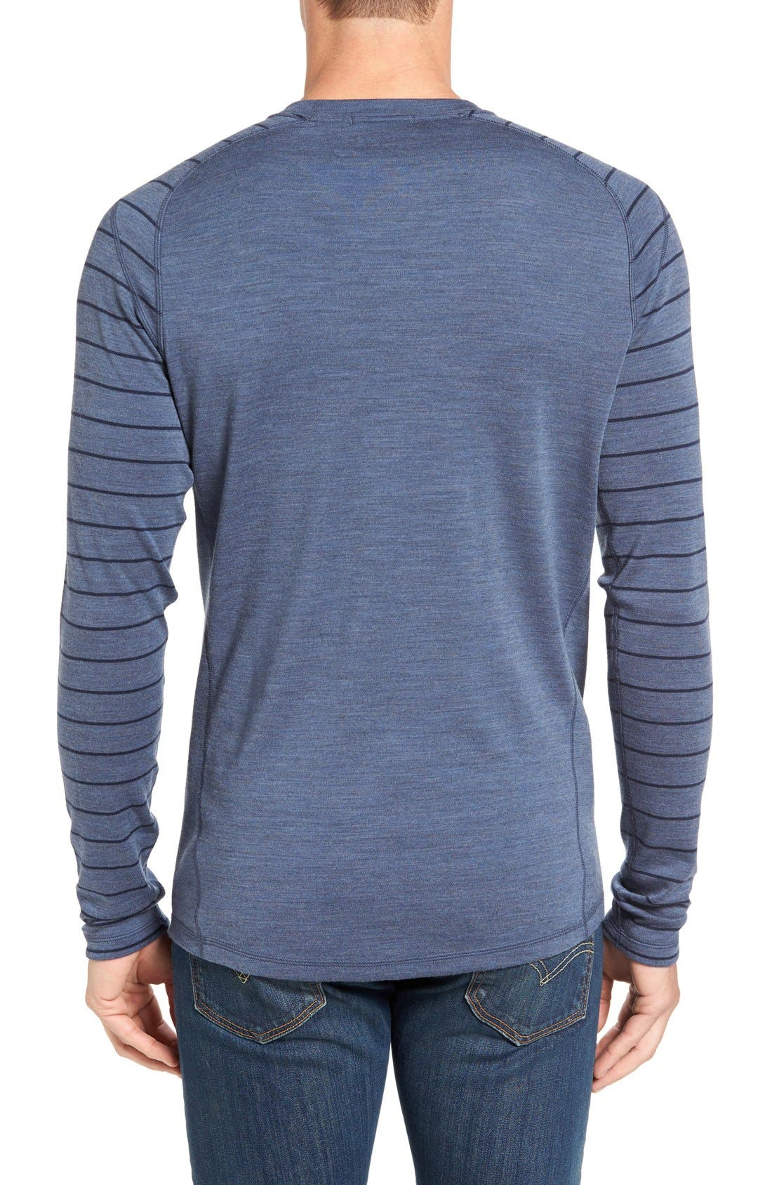 Merino 250 Base Layer Pattern Crewneck T-Shirt,                             Alternate thumbnail 24, color,