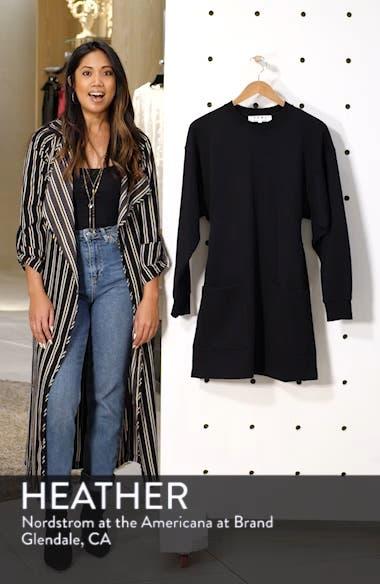 PSWL Belted Sweatshirt Dress, sales video thumbnail