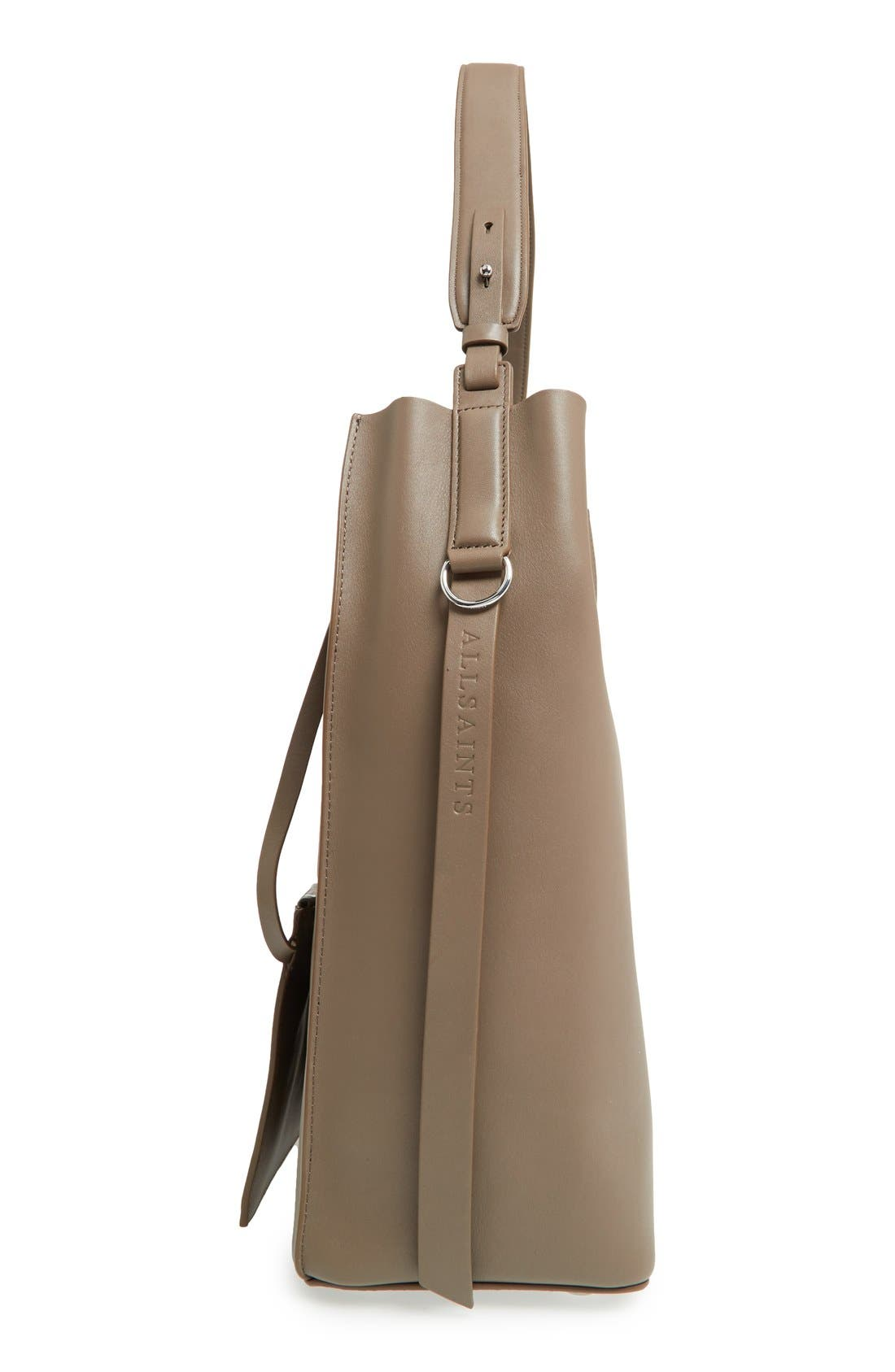 'Paradise North/South' Calfskin Leather Tote,                             Alternate thumbnail 23, color,