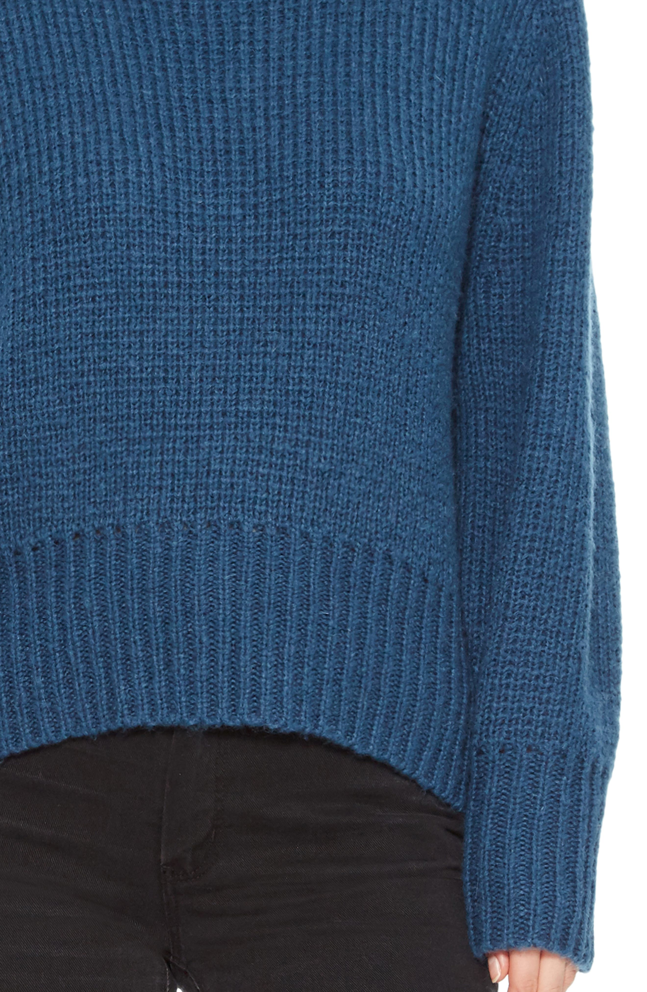 Matty Bow Back Sweater,                             Alternate thumbnail 4, color,                             449