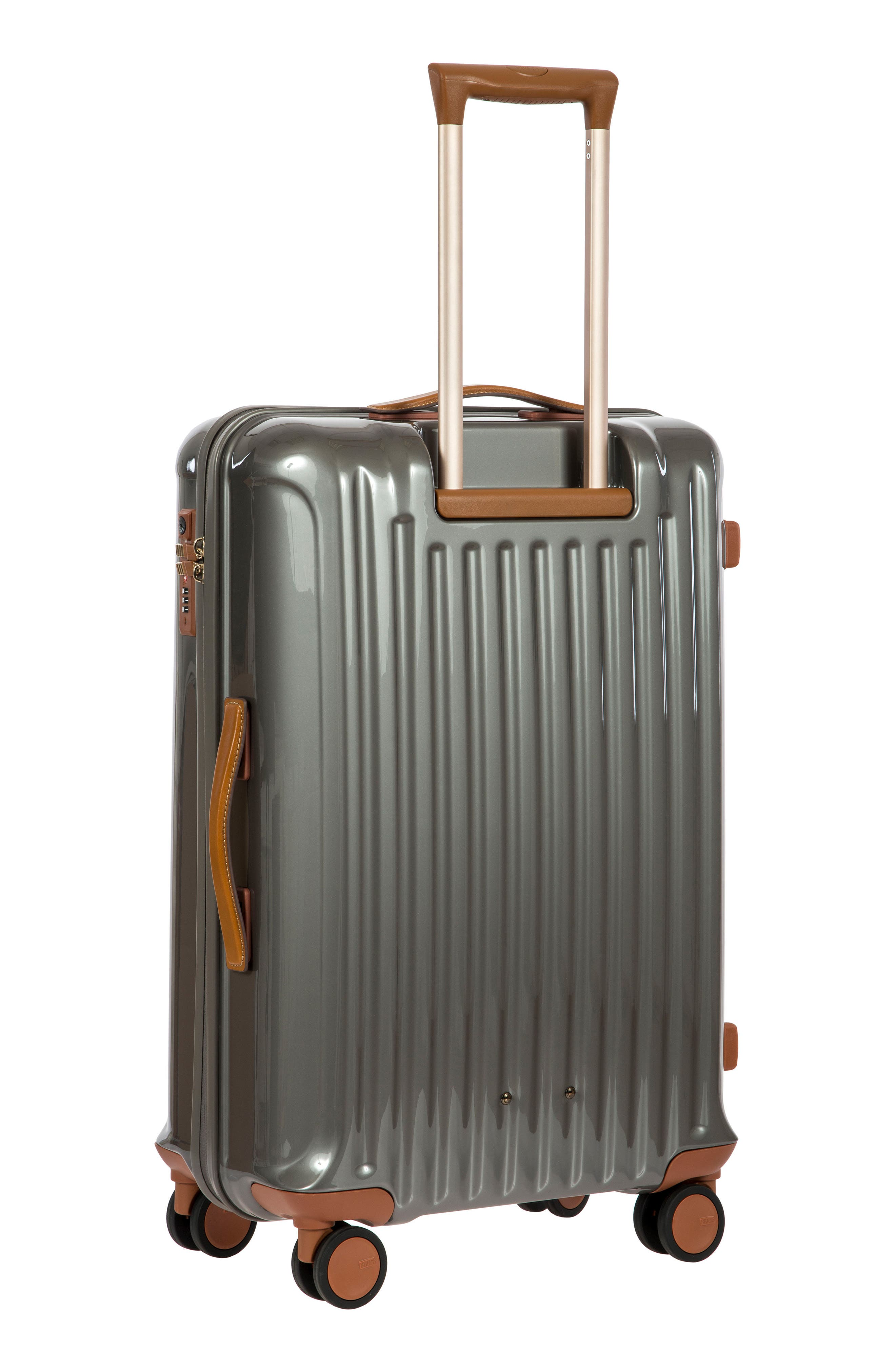Capri 27-Inch Rolling Suitcase,                             Alternate thumbnail 4, color,                             GREY