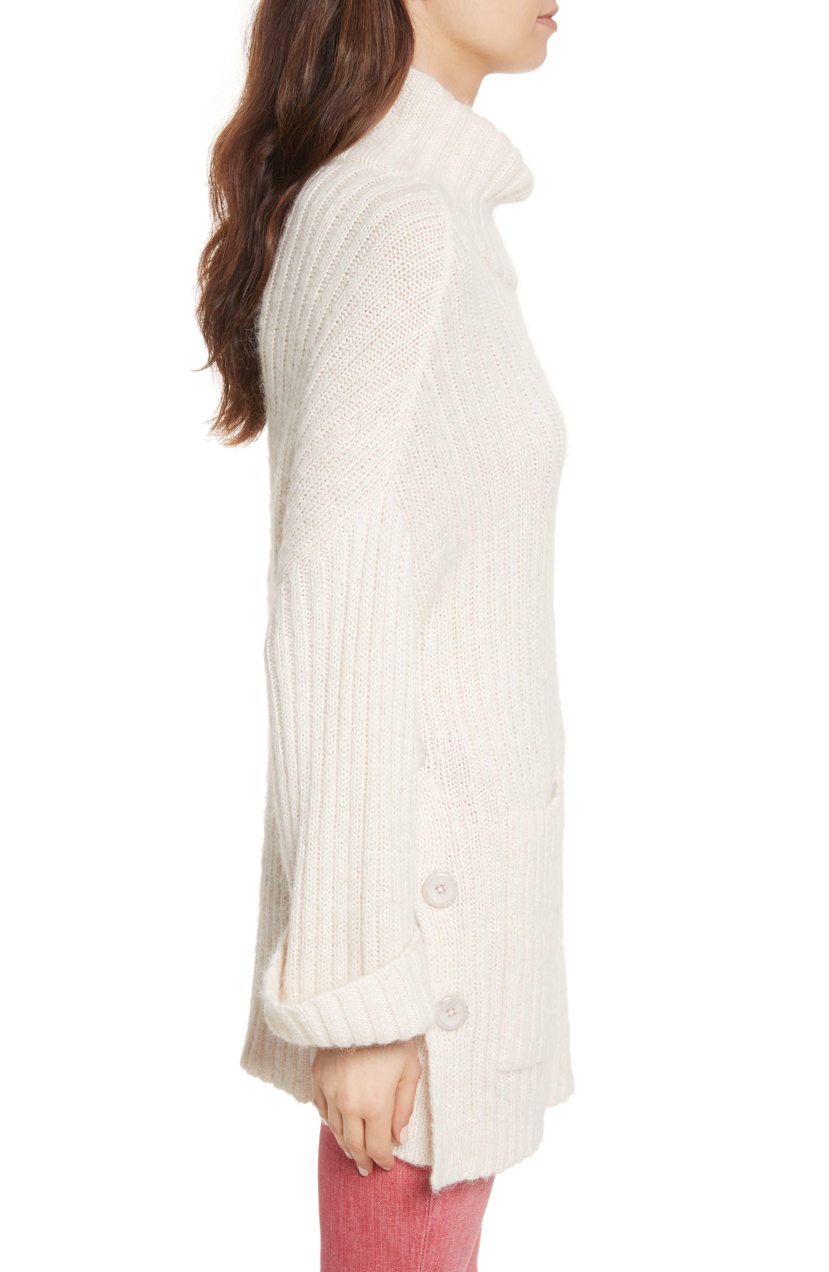 Banain Turtleneck Sweater,                             Alternate thumbnail 3, color,                             114