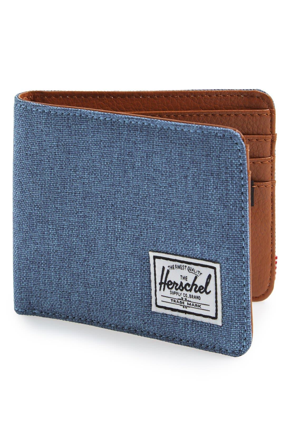 HERSCHEL SUPPLY CO. 'Hank' Bifold Wallet, Main, color, 437