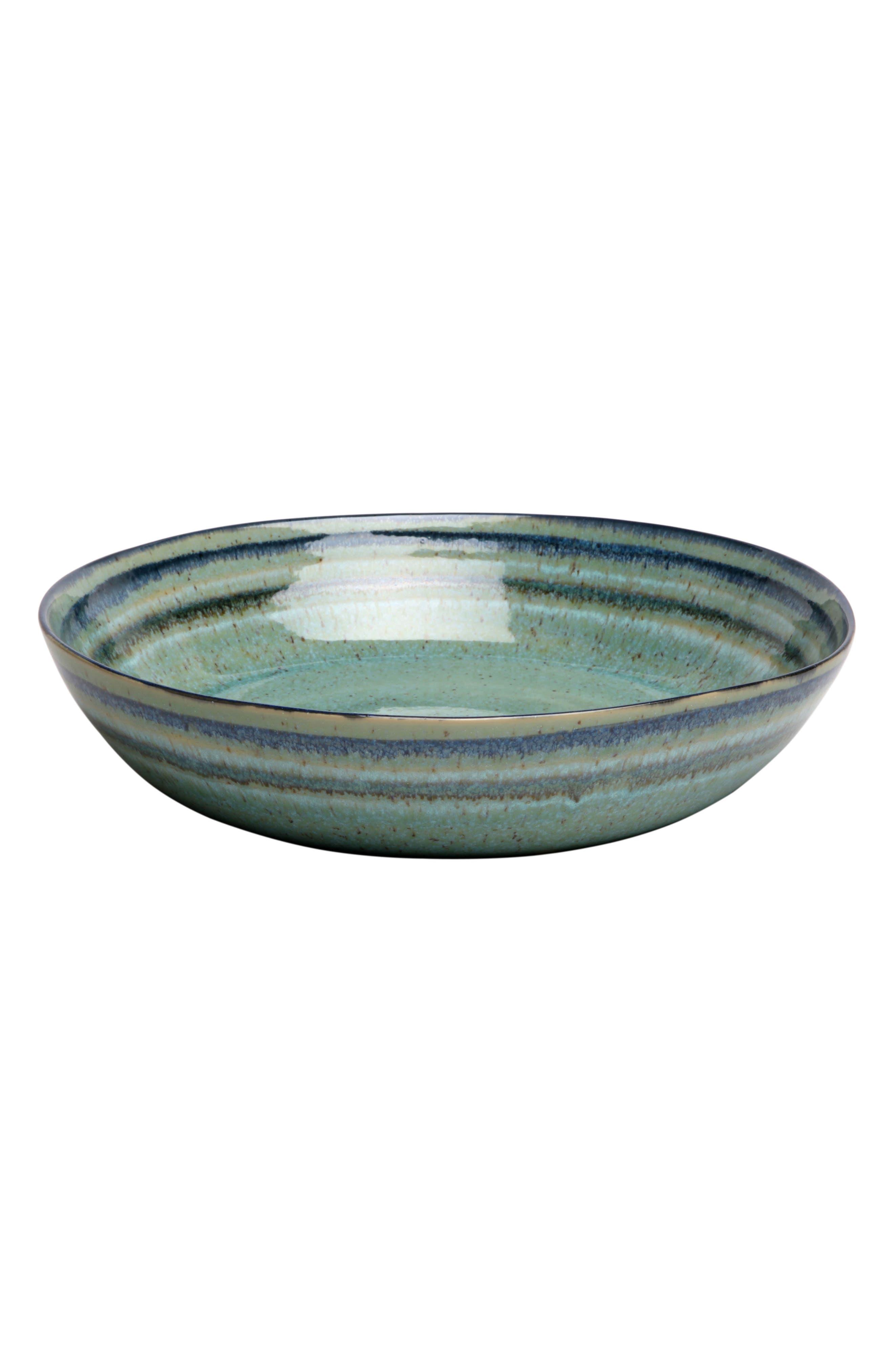 CASAFINA Sausalito Large Pasta Bowl, Main, color, GREEN