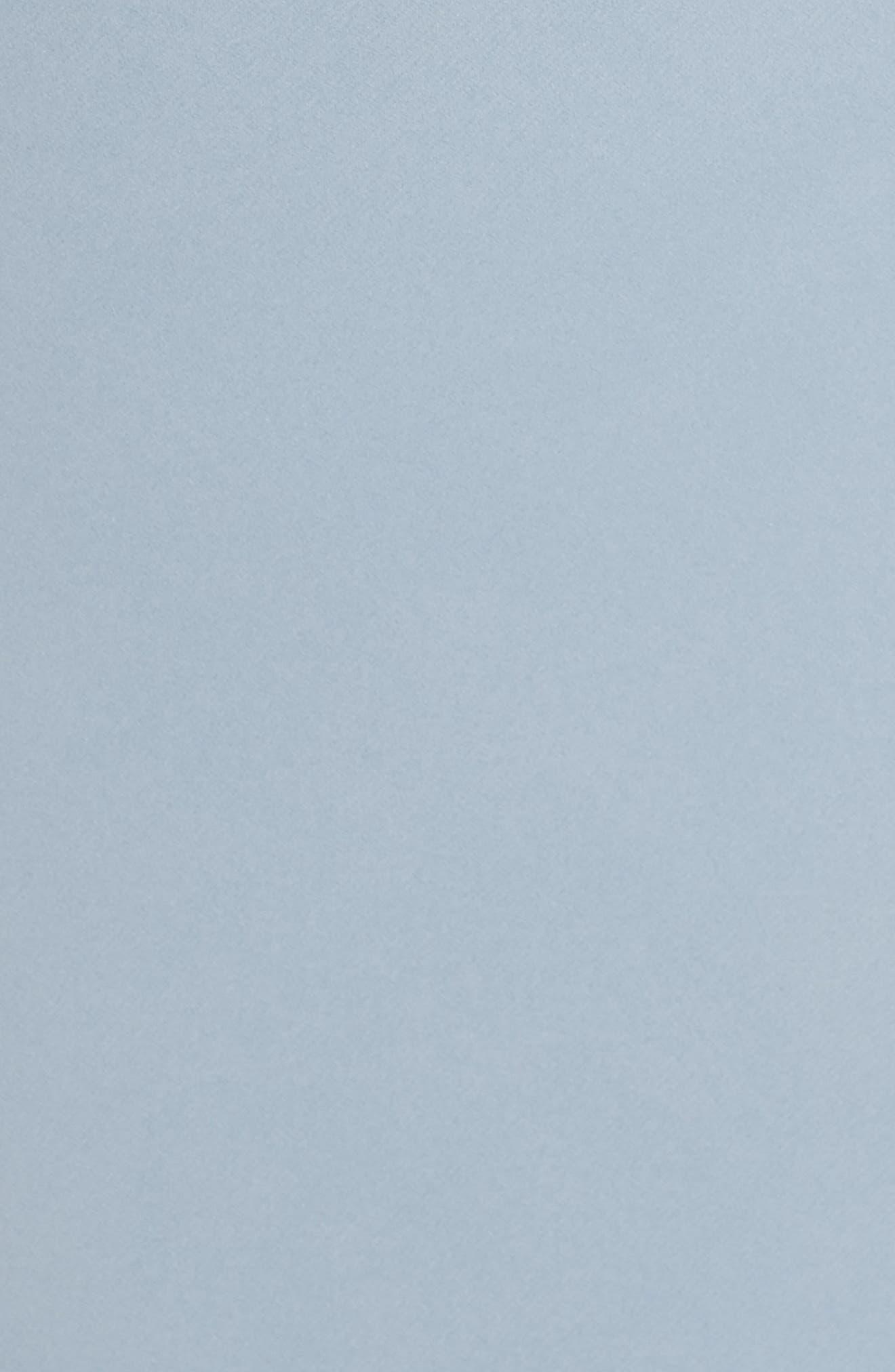 Delaney Tie Back V-Neck Gown,                             Alternate thumbnail 5, color,                             450