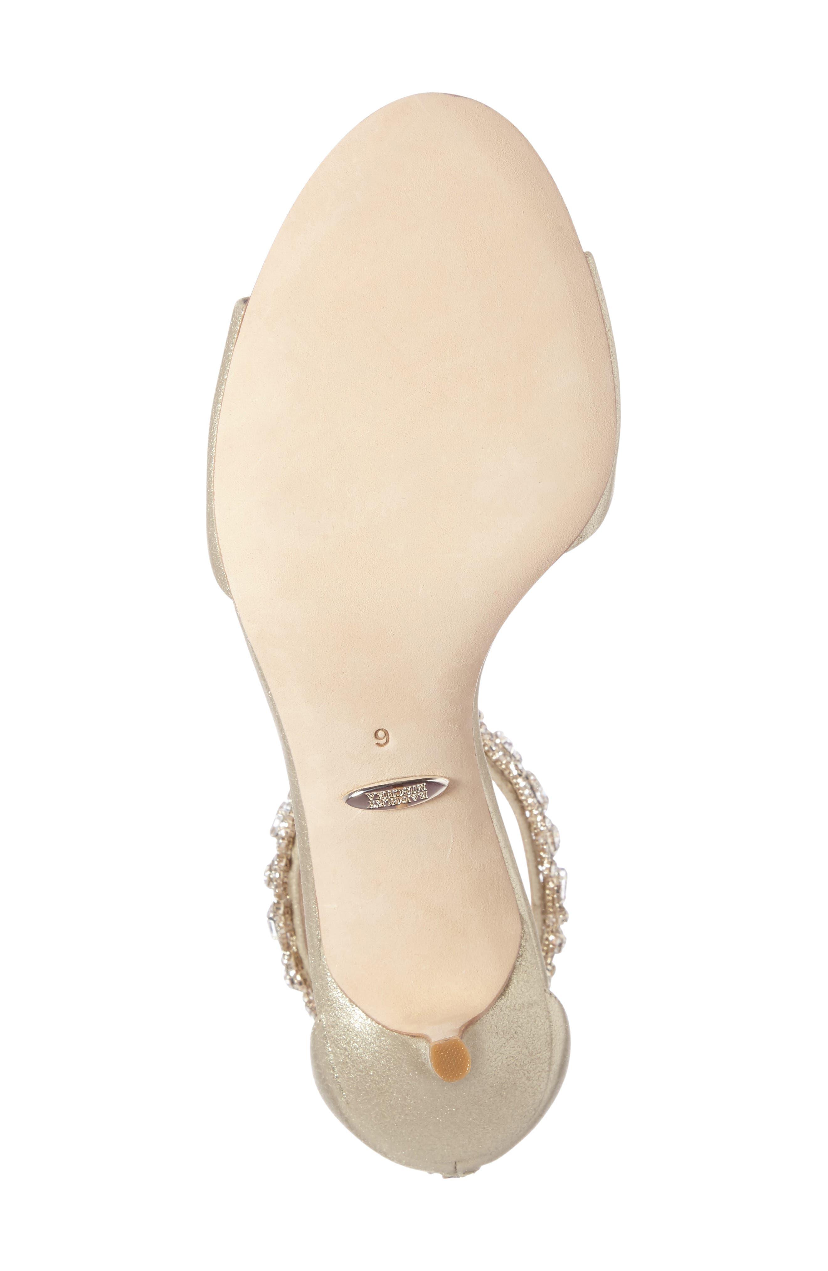 Geranium Embellished Sandal,                             Alternate thumbnail 23, color,