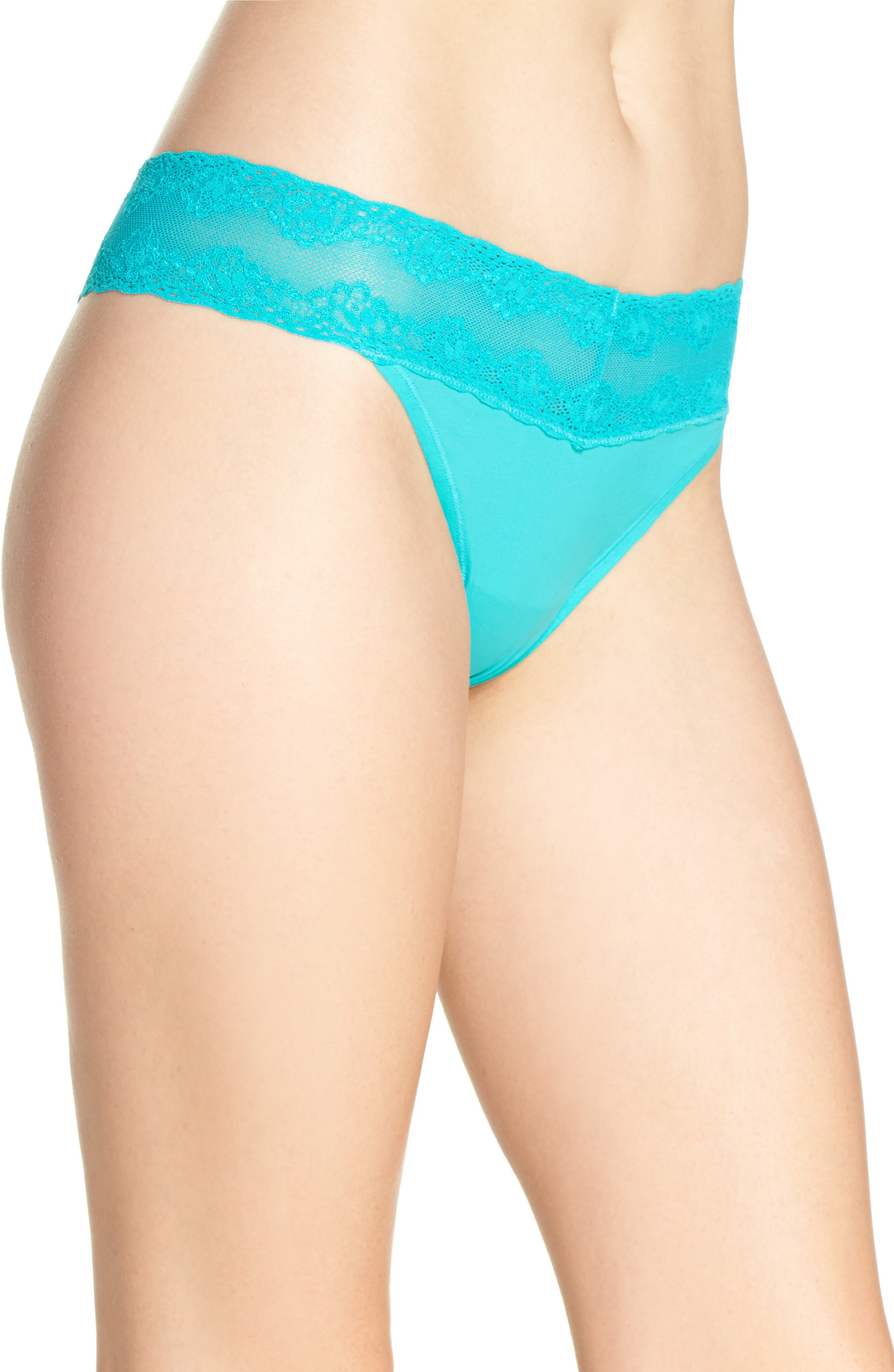Bliss Perfection Thong,                             Alternate thumbnail 265, color,