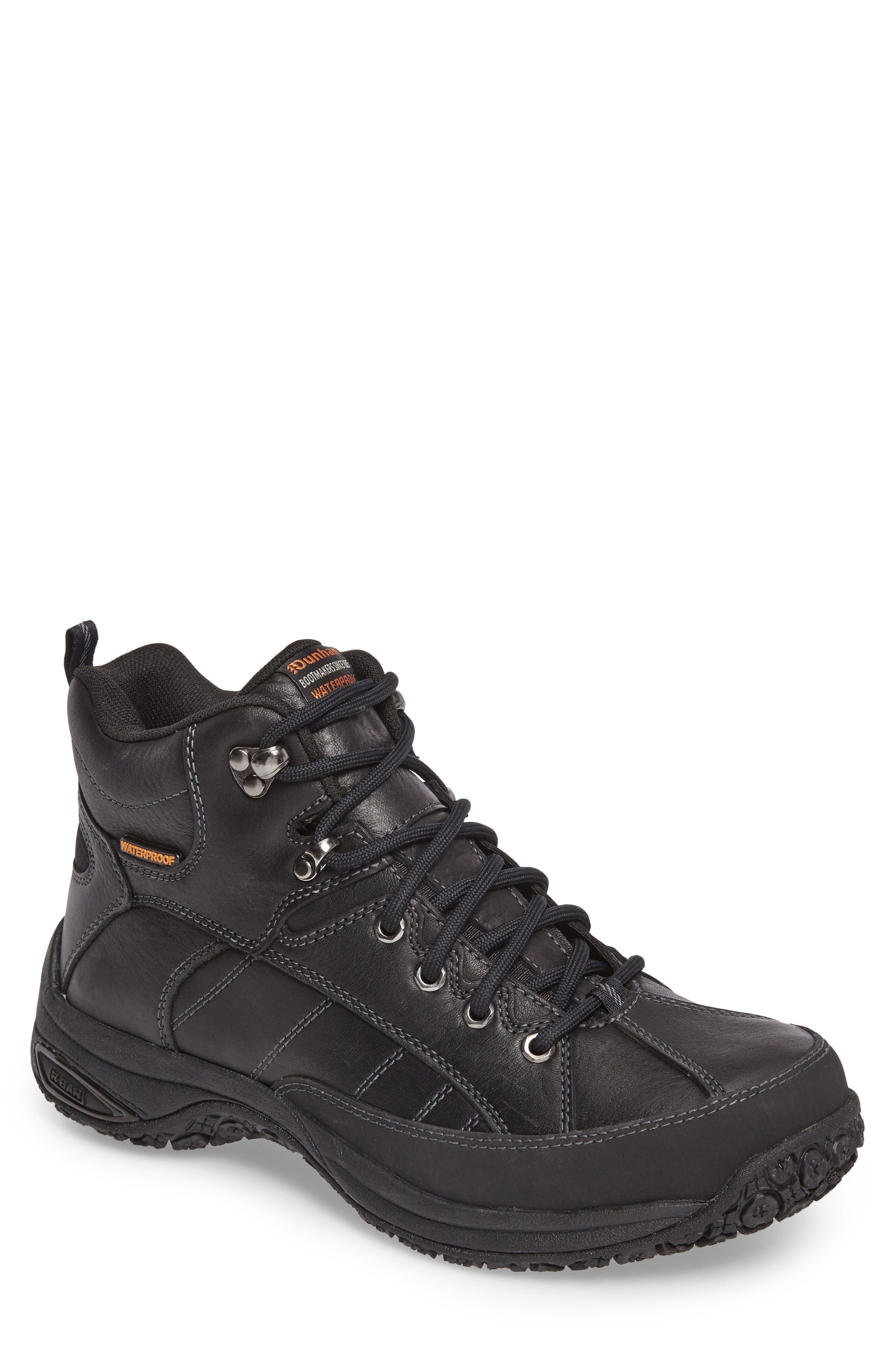 Lawrence Waterproof Boot,                         Main,                         color, BLACK