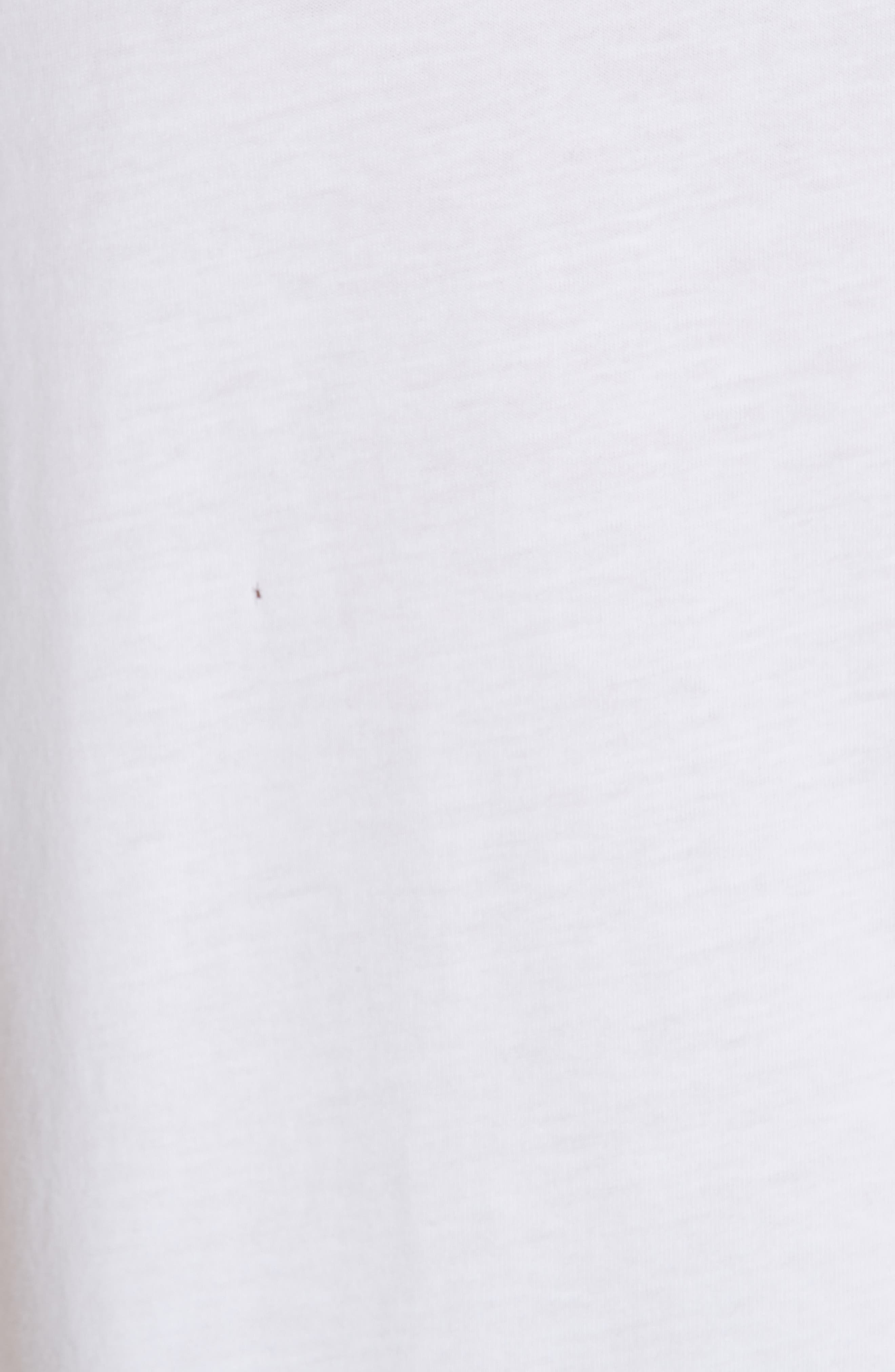 Band Logo T-Shirt,                             Alternate thumbnail 5, color,                             WHITE