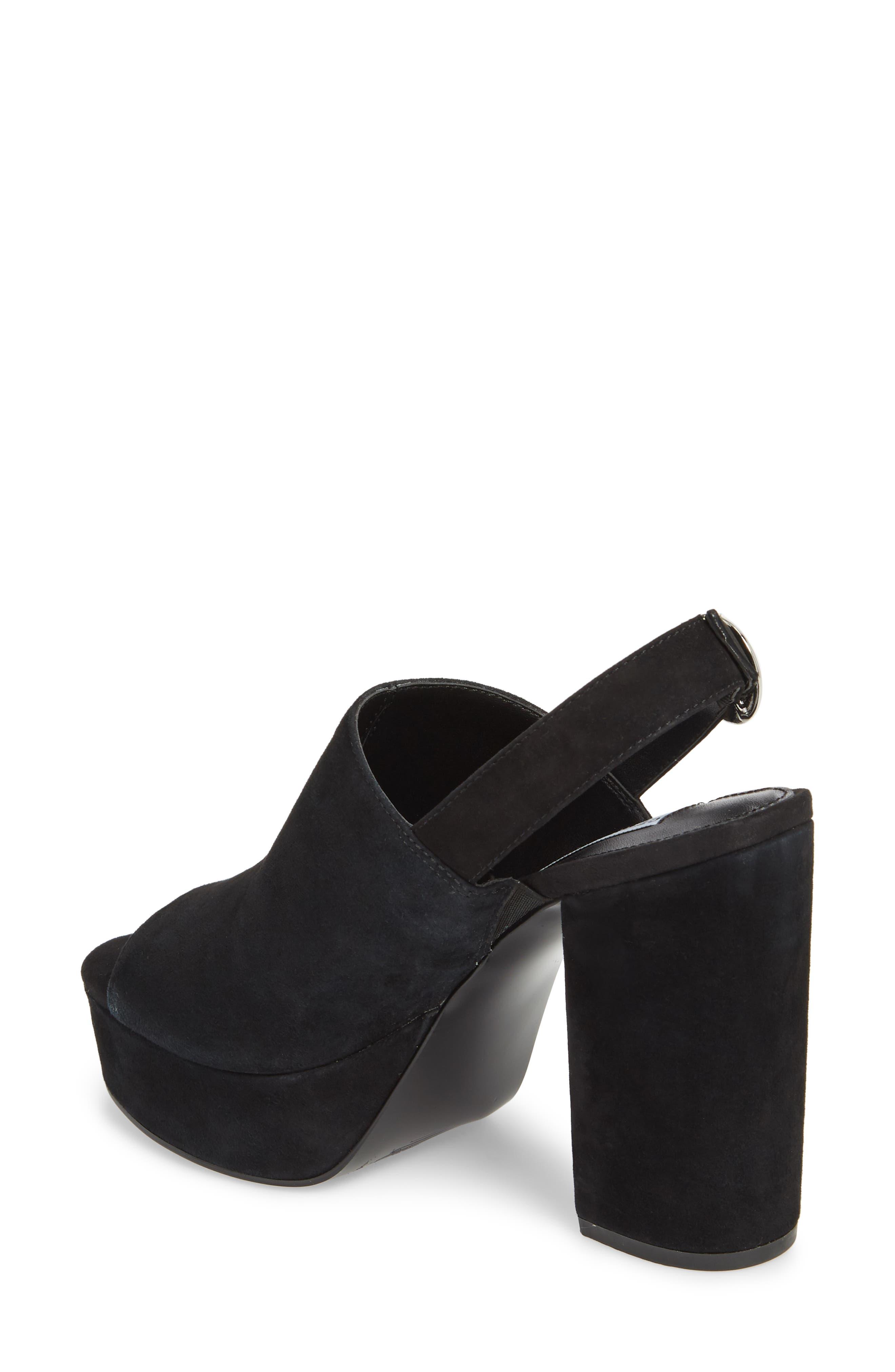 Carter Slingback Platform Sandal,                             Alternate thumbnail 2, color,                             006