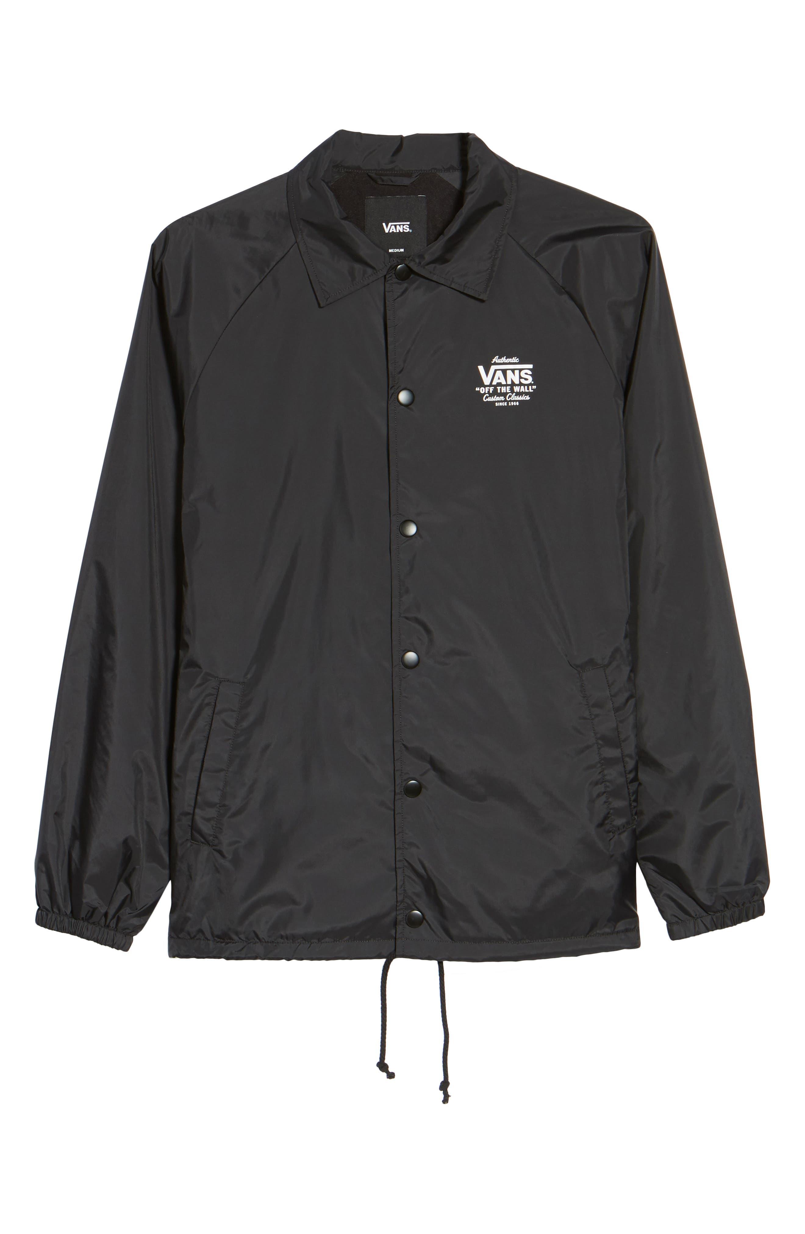 Torrey Water Resistant Jacket,                             Alternate thumbnail 5, color,                             001