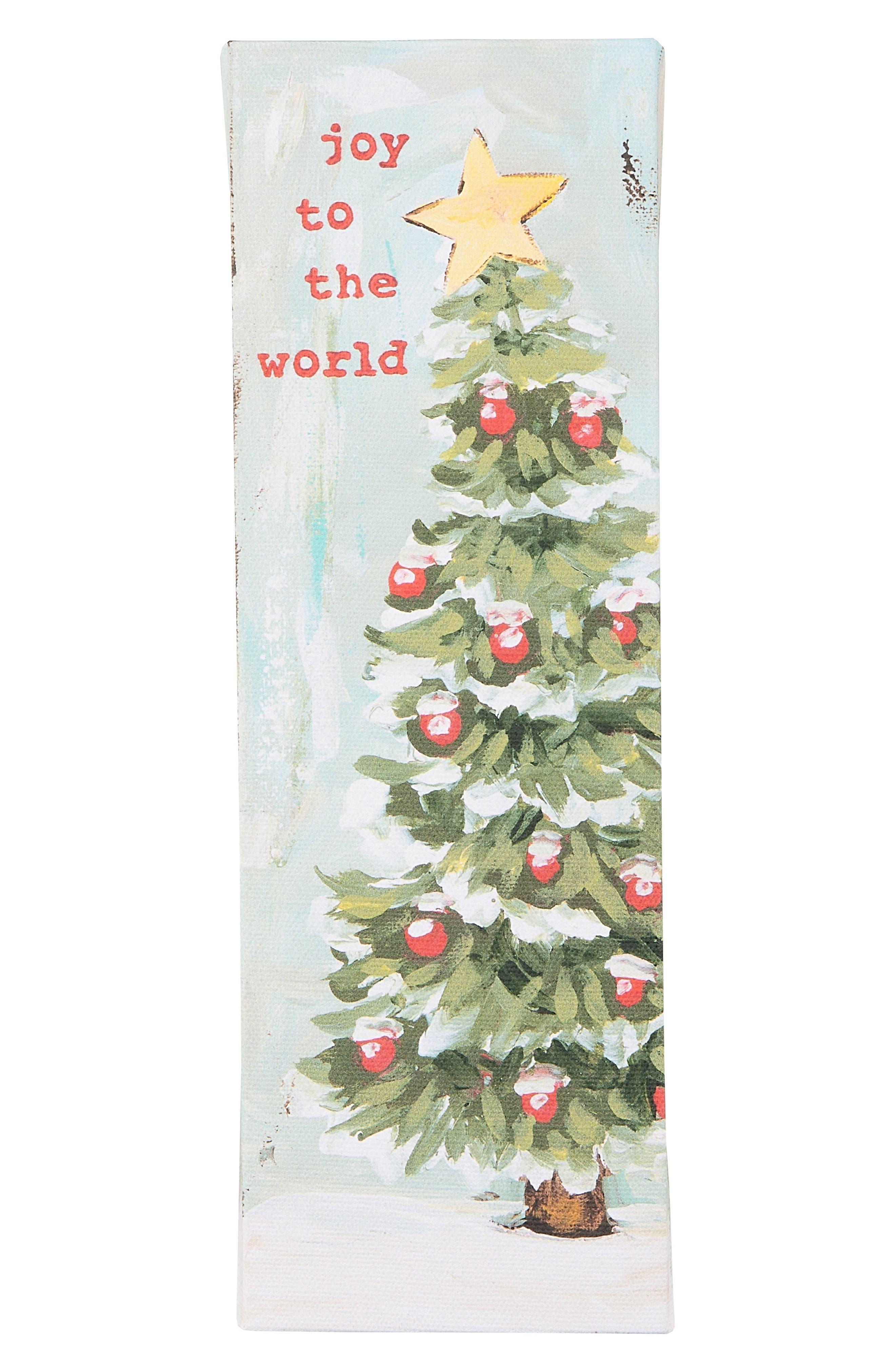 GLORY HAUS,                             Joy to the World Wall Art,                             Main thumbnail 1, color,                             900