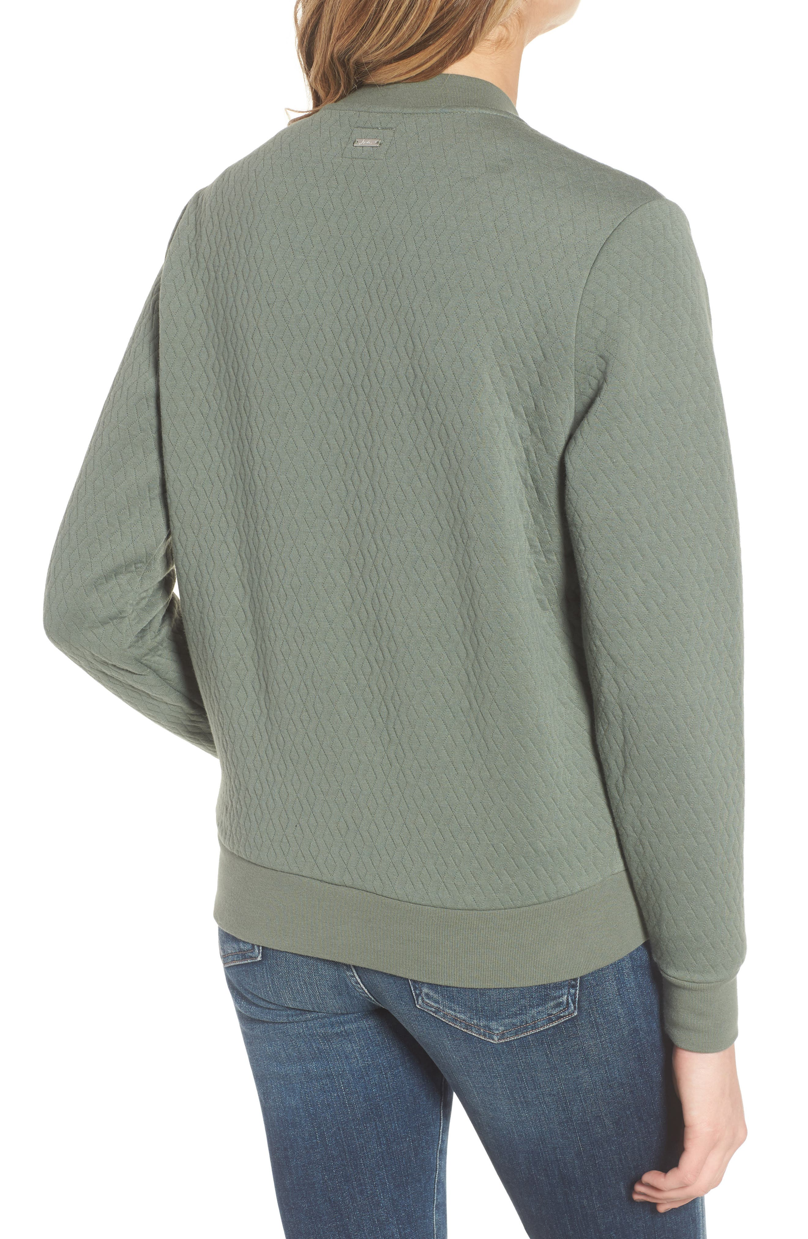 Millie Bomber Sweatshirt Jacket,                             Alternate thumbnail 2, color,                             301