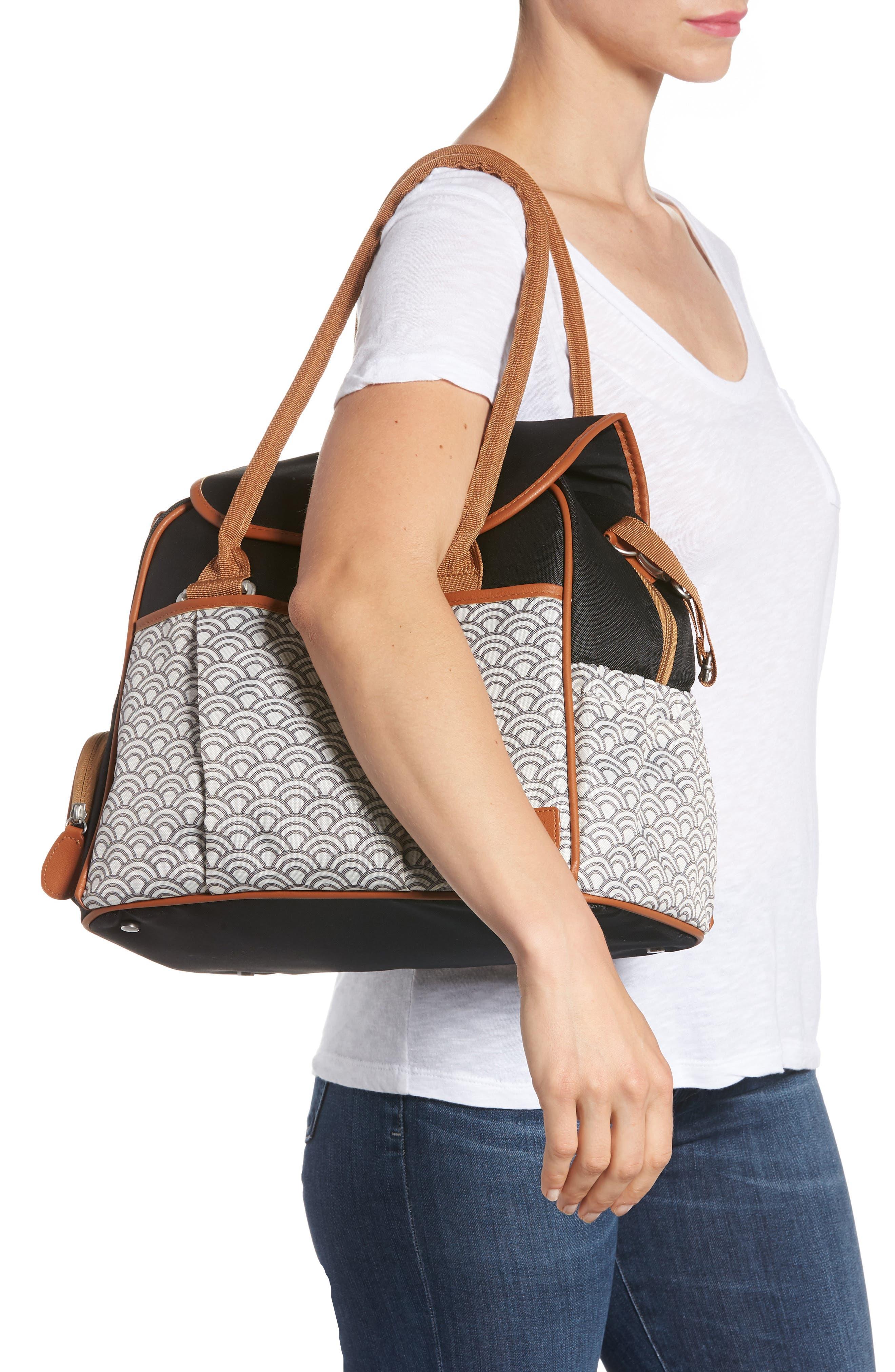 Style Diaper Bag,                             Alternate thumbnail 2, color,                             BLACK