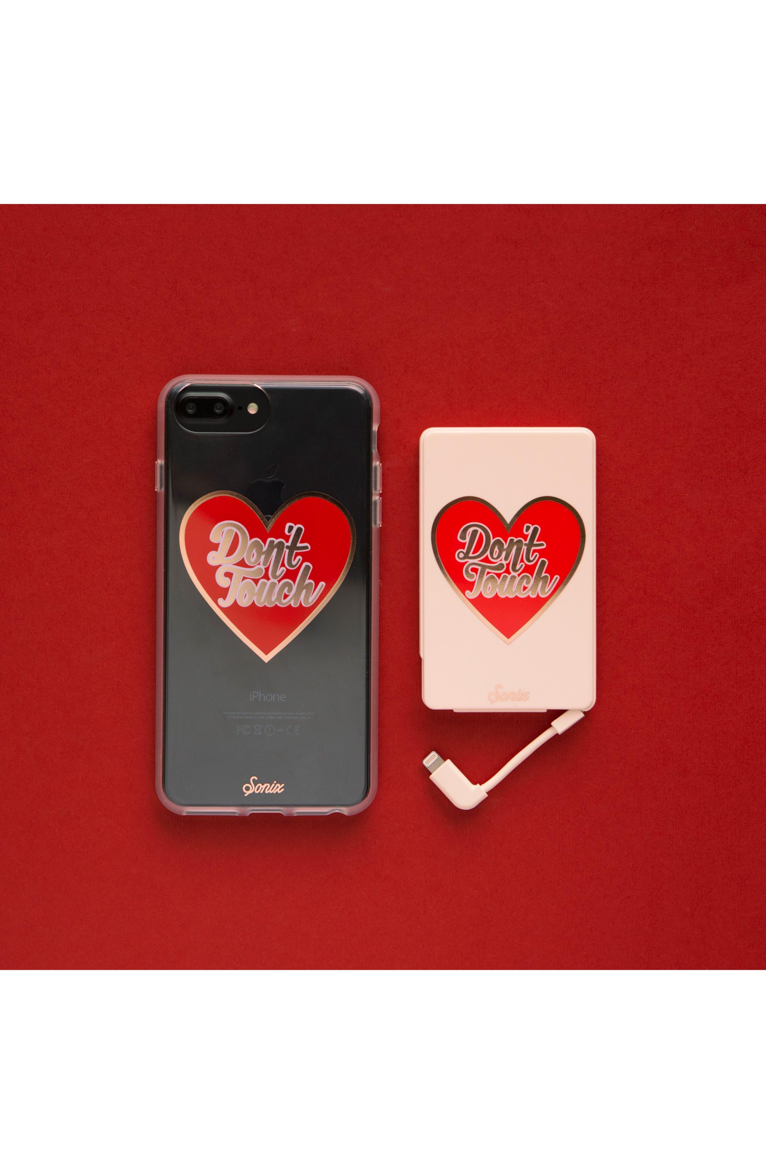 Don't Touch iPhone 6/6s/7/8 & 6/6s/7/8 Plus Case,                             Alternate thumbnail 2, color,                             600