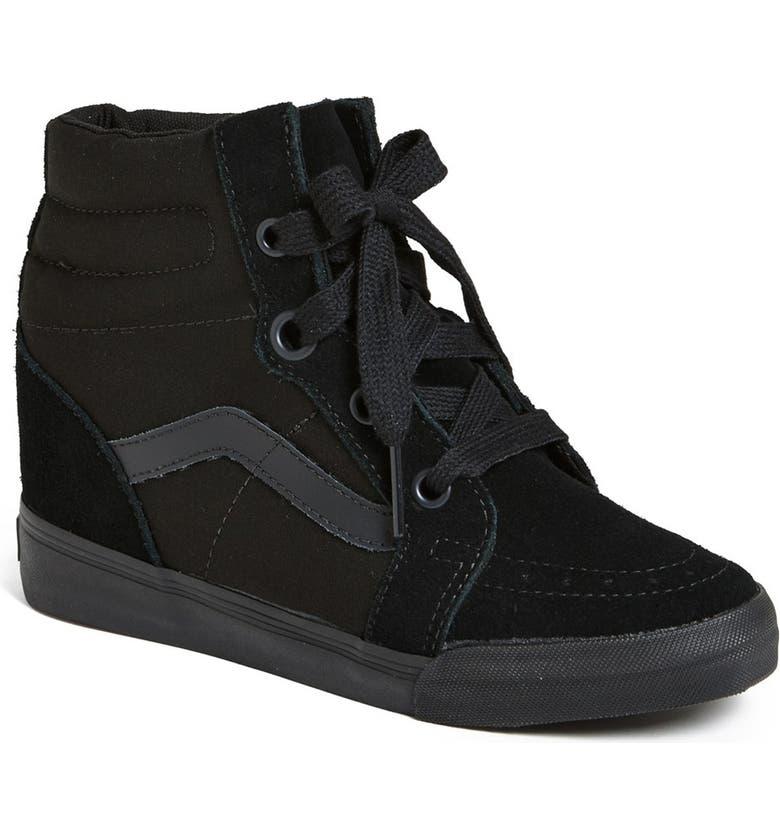 Vans  Sk8 Hi  Wedge Sneaker (Women)  5597caf52