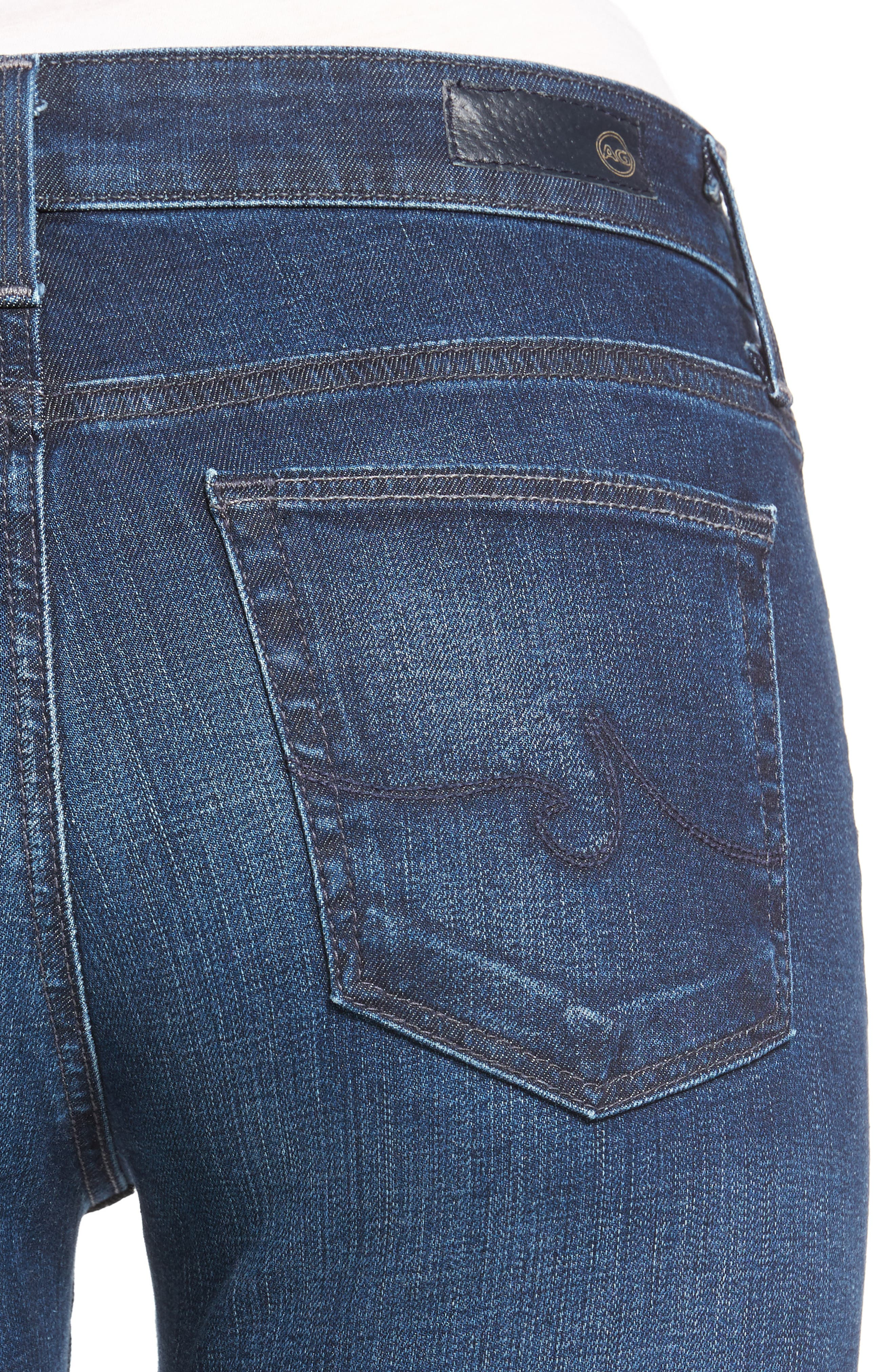 'The Farrah' High Rise Skinny Jeans,                             Alternate thumbnail 38, color,