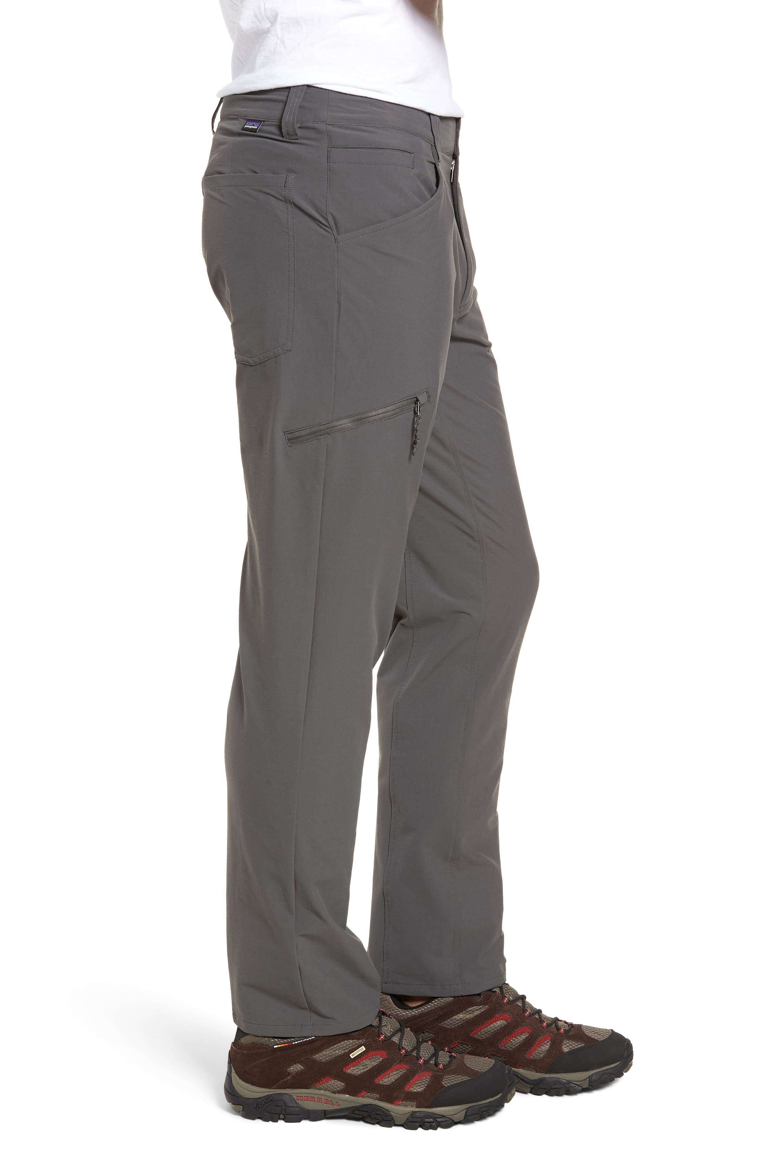 Quandary Pants,                             Alternate thumbnail 3, color,                             FORGE GREY