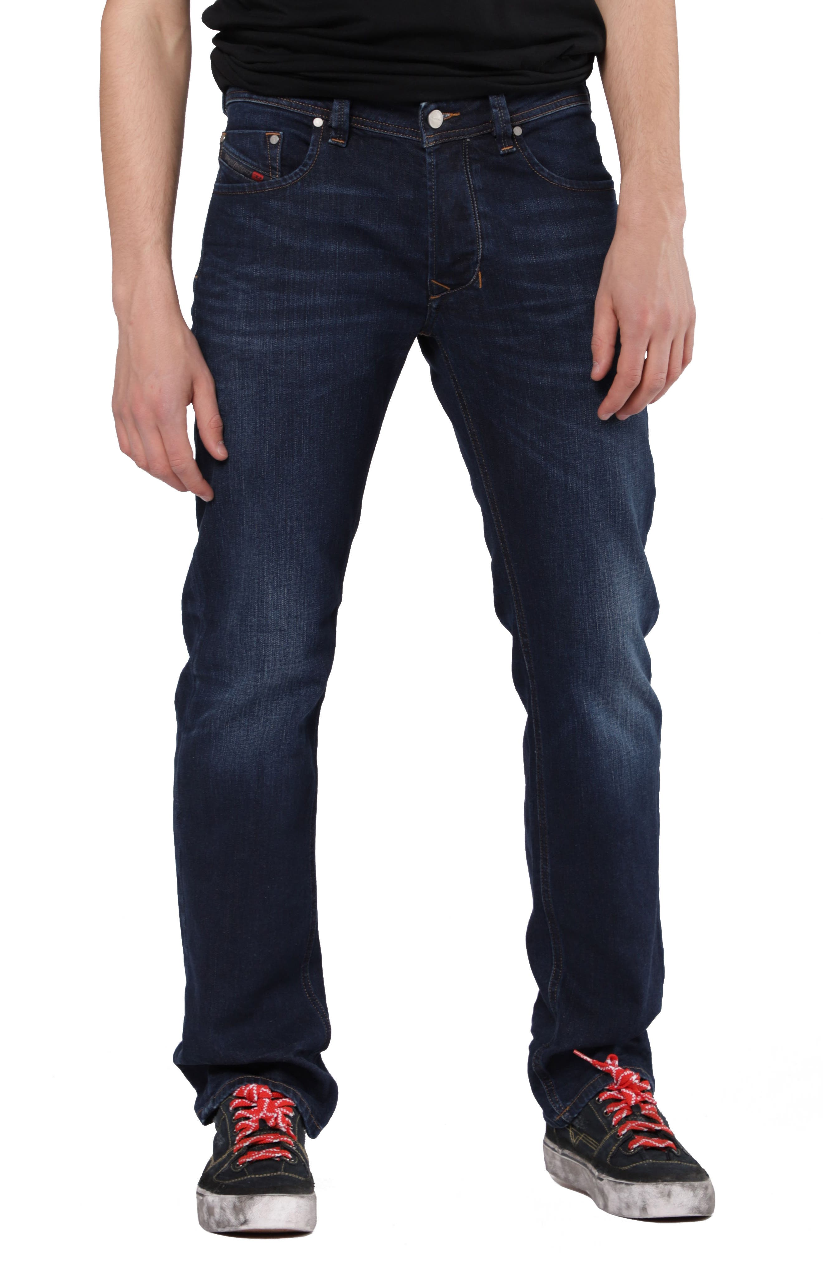 Larkee Relaxed Fit Jeans,                             Main thumbnail 1, color,                             084VG