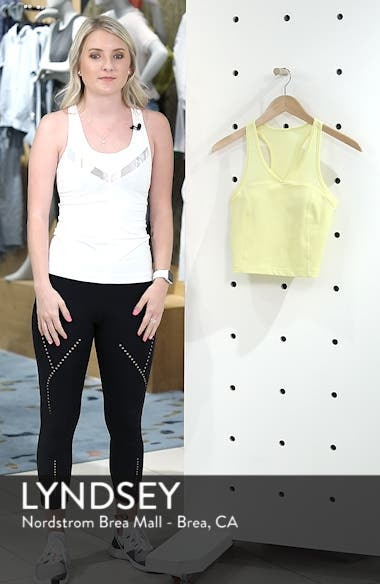 Vivian Recycled Crop Tank, sales video thumbnail