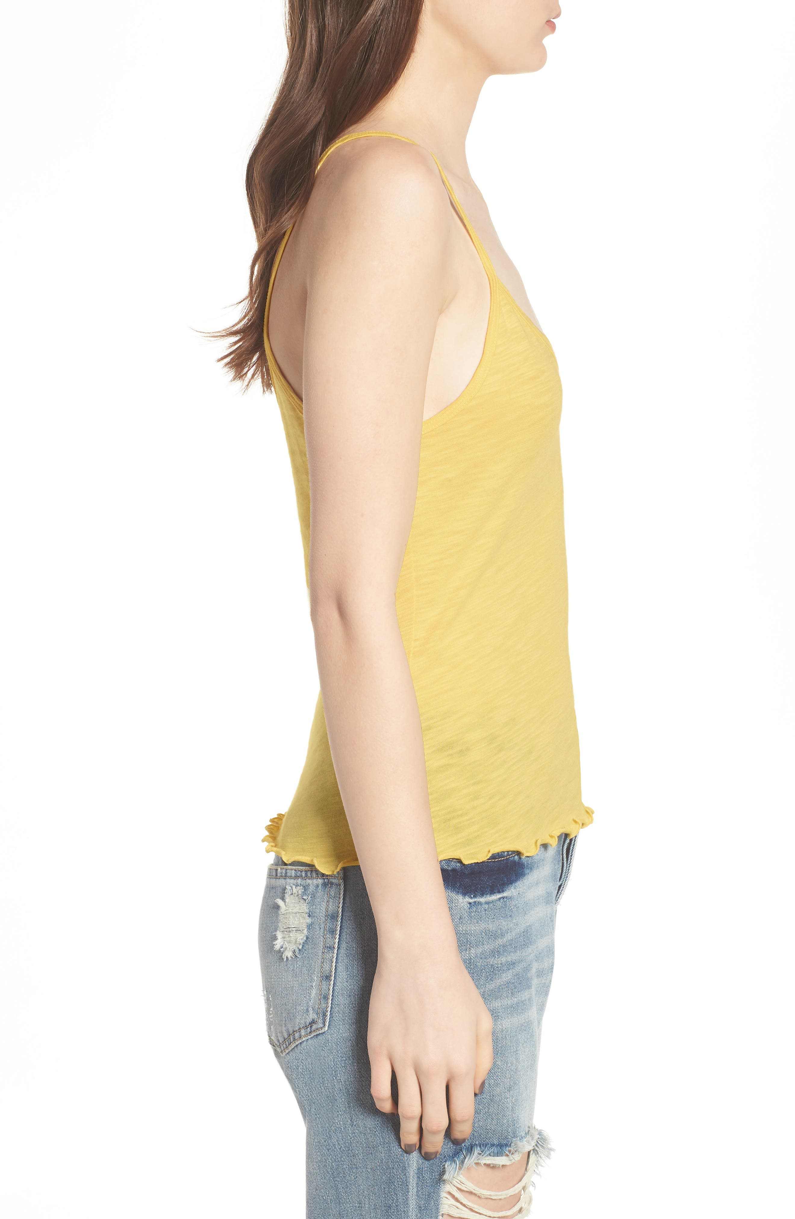 Lettuce Hem Camisole,                             Alternate thumbnail 7, color,