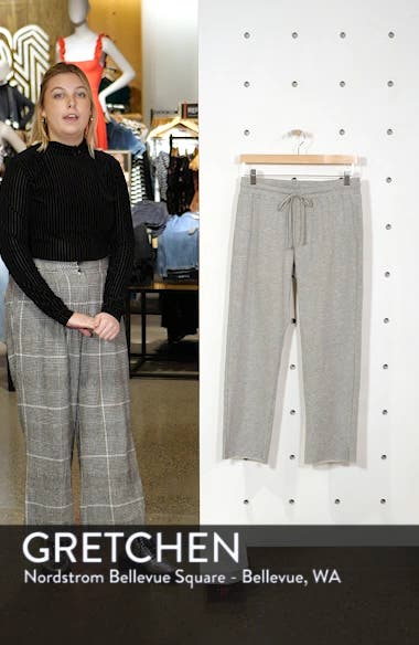 Hanson Crop Sweatpants, sales video thumbnail