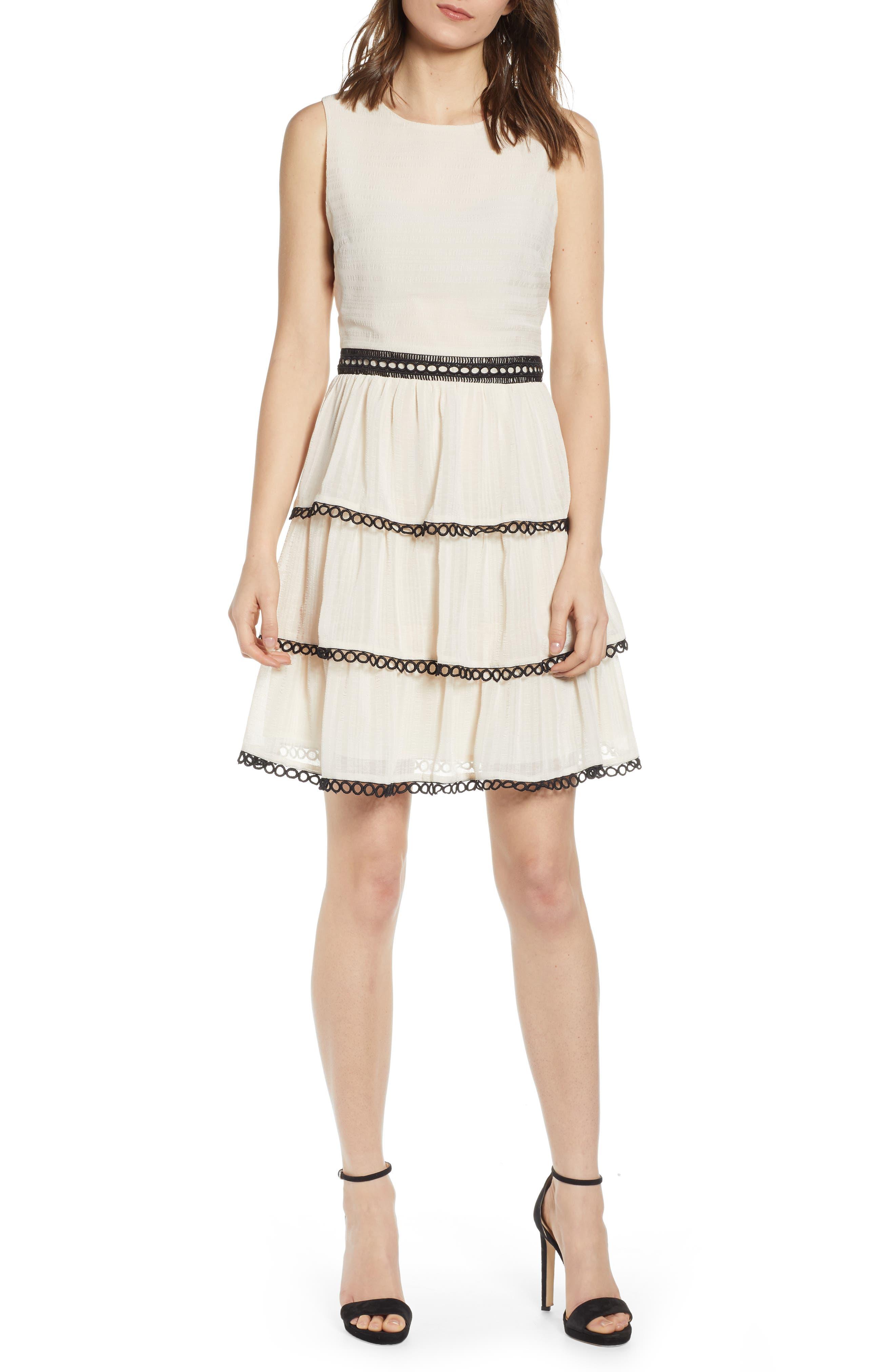 07c563af9ff6 Endless Rose Tiered Sleeveless Dress
