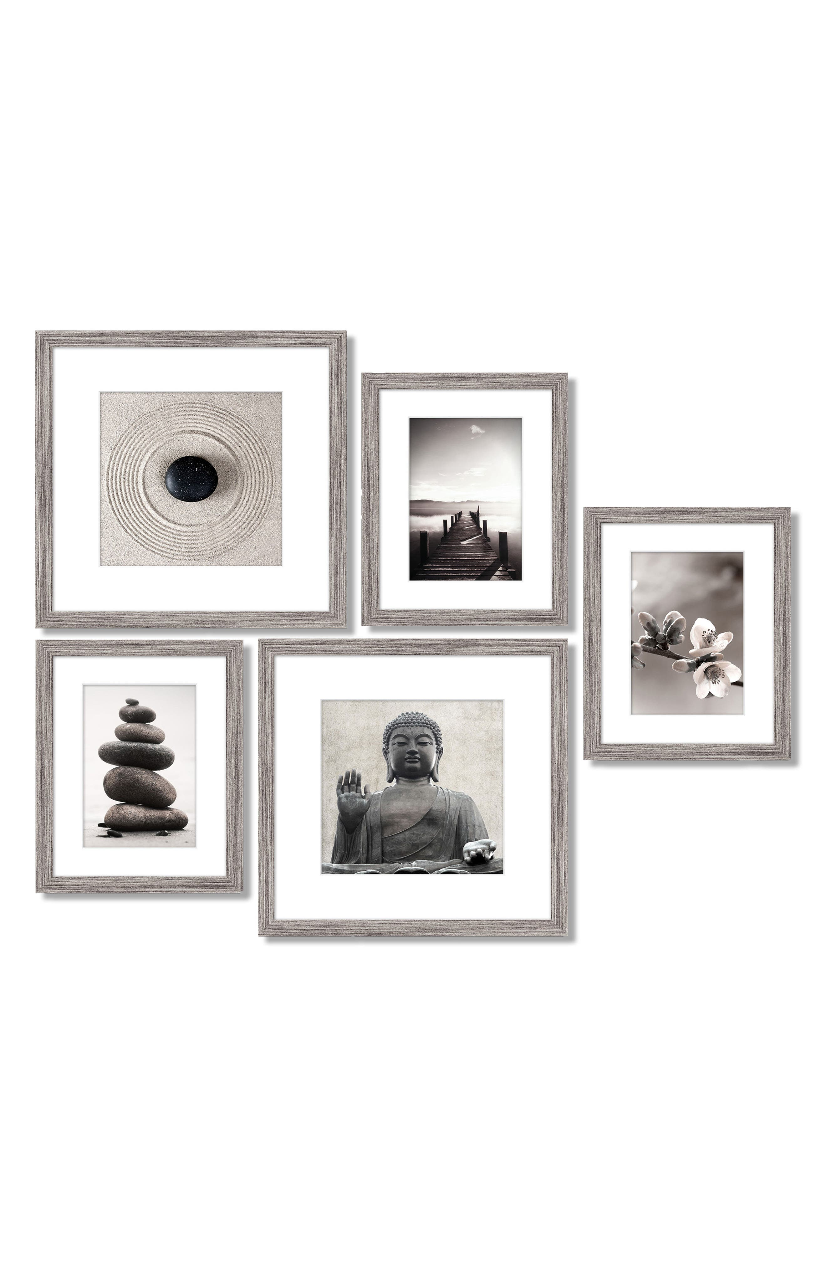 5-Piece Framed Wall Art Gallery,                         Main,                         color, 020