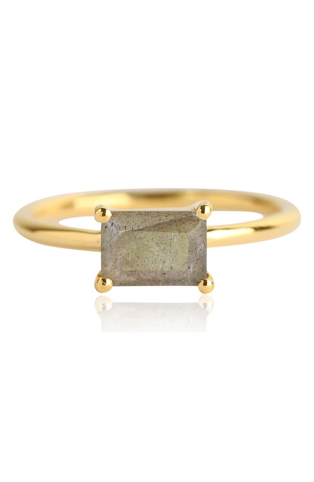 Baguette Stone Ring,                             Main thumbnail 1, color,                             020