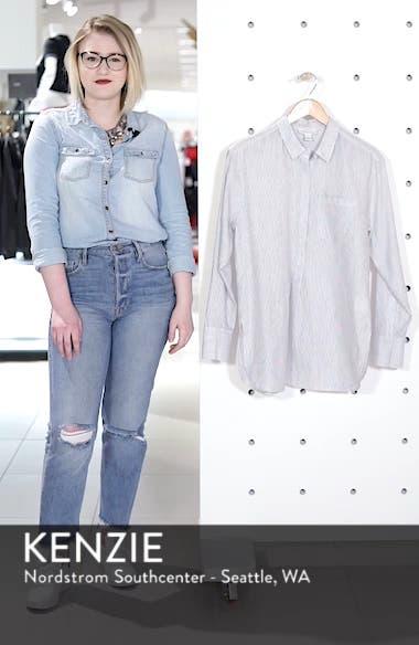 Stripe Popover Shirt, sales video thumbnail