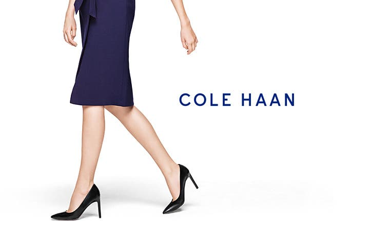 Cole Haan shoes and accessories.